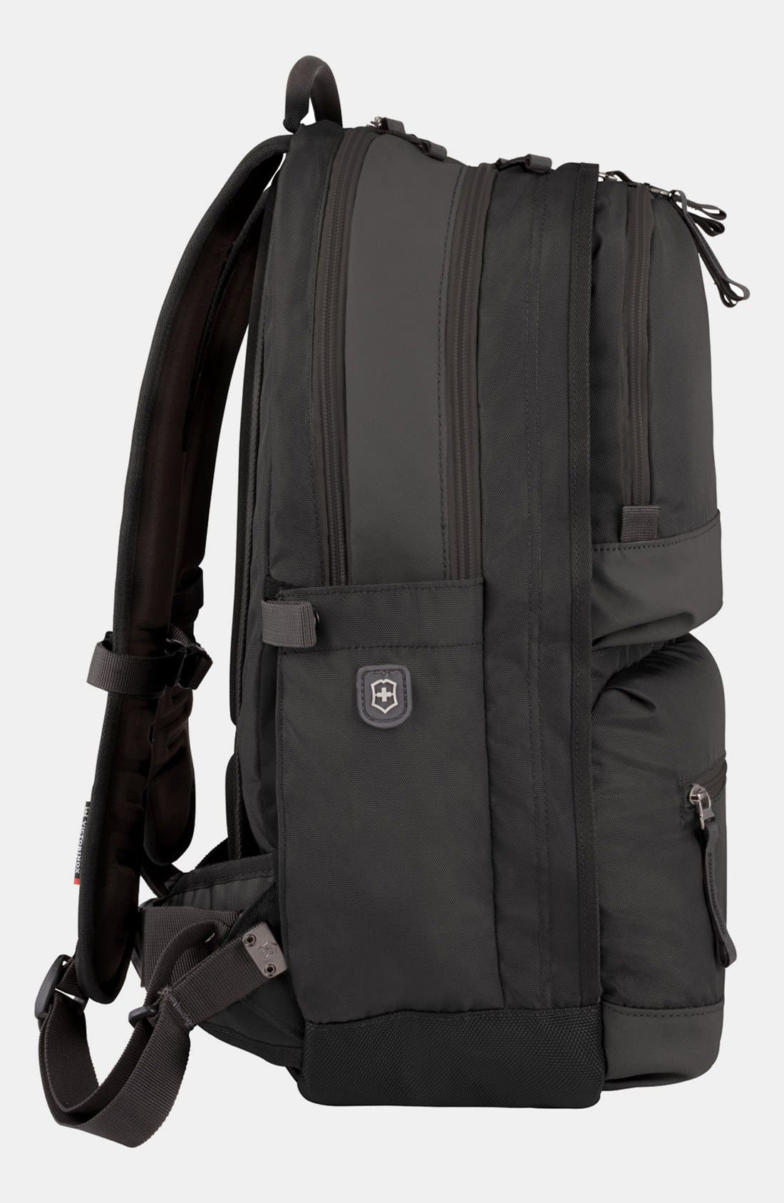 Dual Compartment Backpack,                             Alternate thumbnail 3, color,                             001