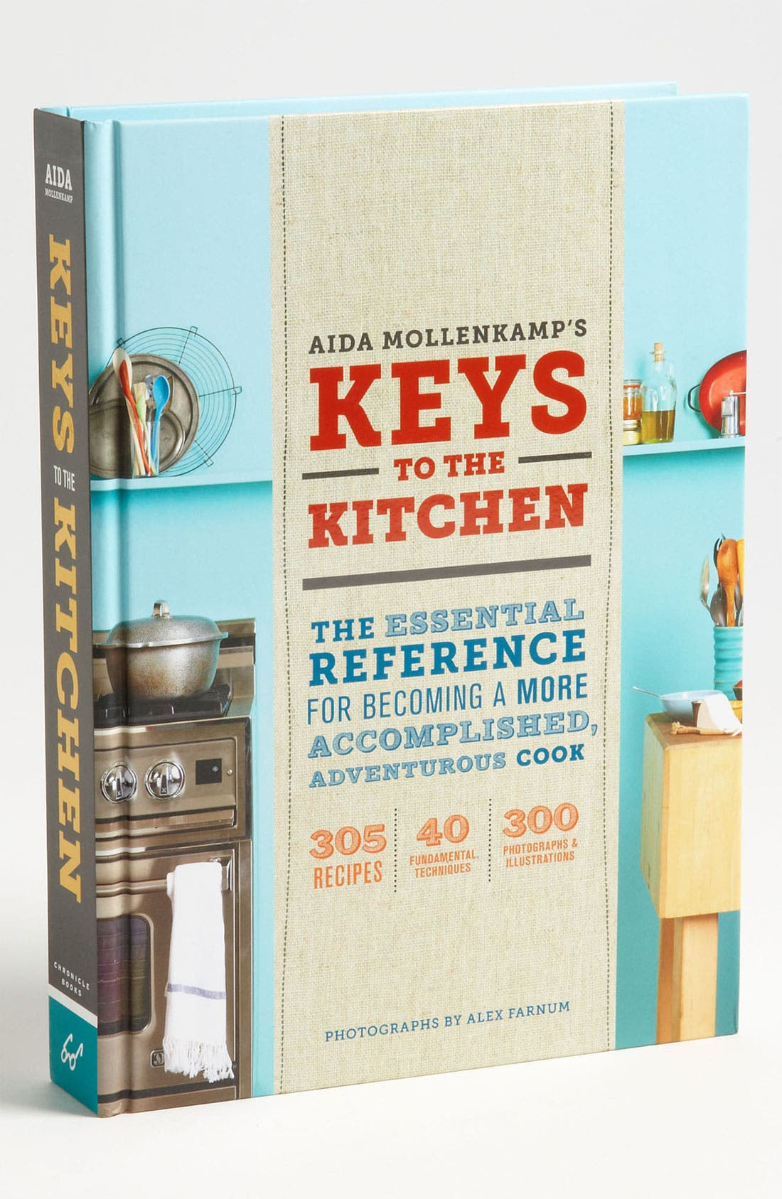 'Aida Mollenkamp's Keys To The Kitchen' Reference & Cookbook,                             Main thumbnail 1, color,