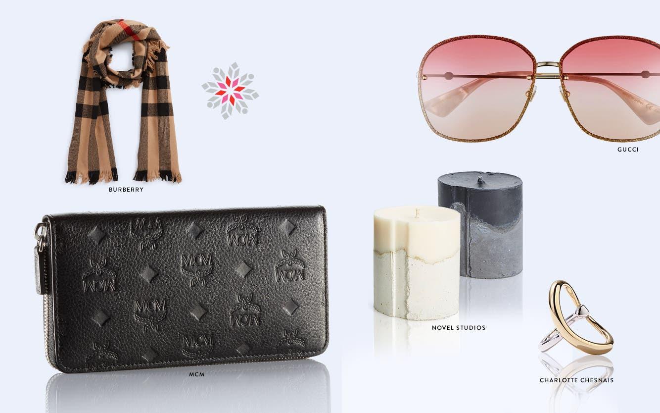 Designer holiday gifts: under $500.