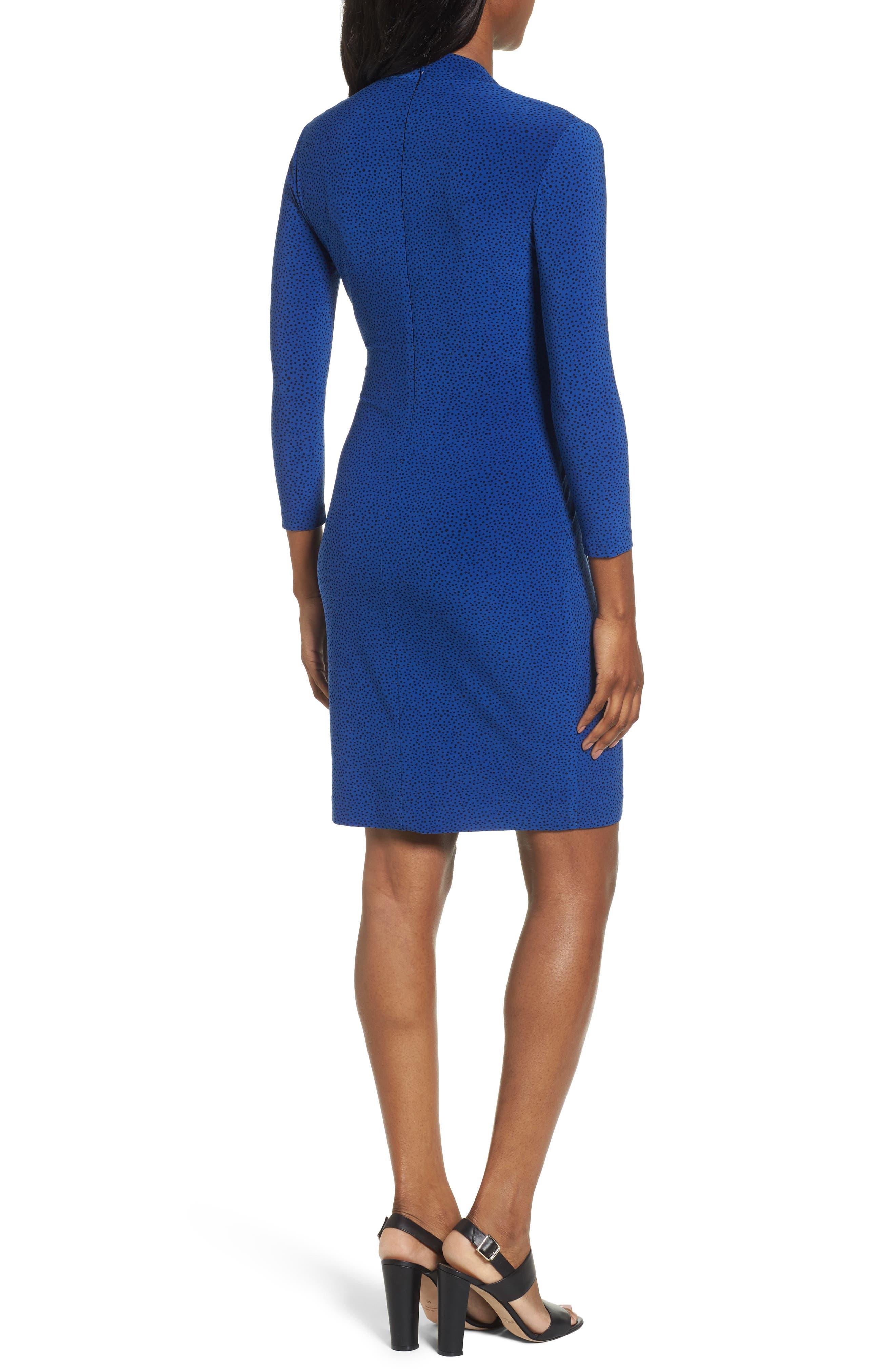 City Faux Wrap Dress,                             Alternate thumbnail 2, color,                             400