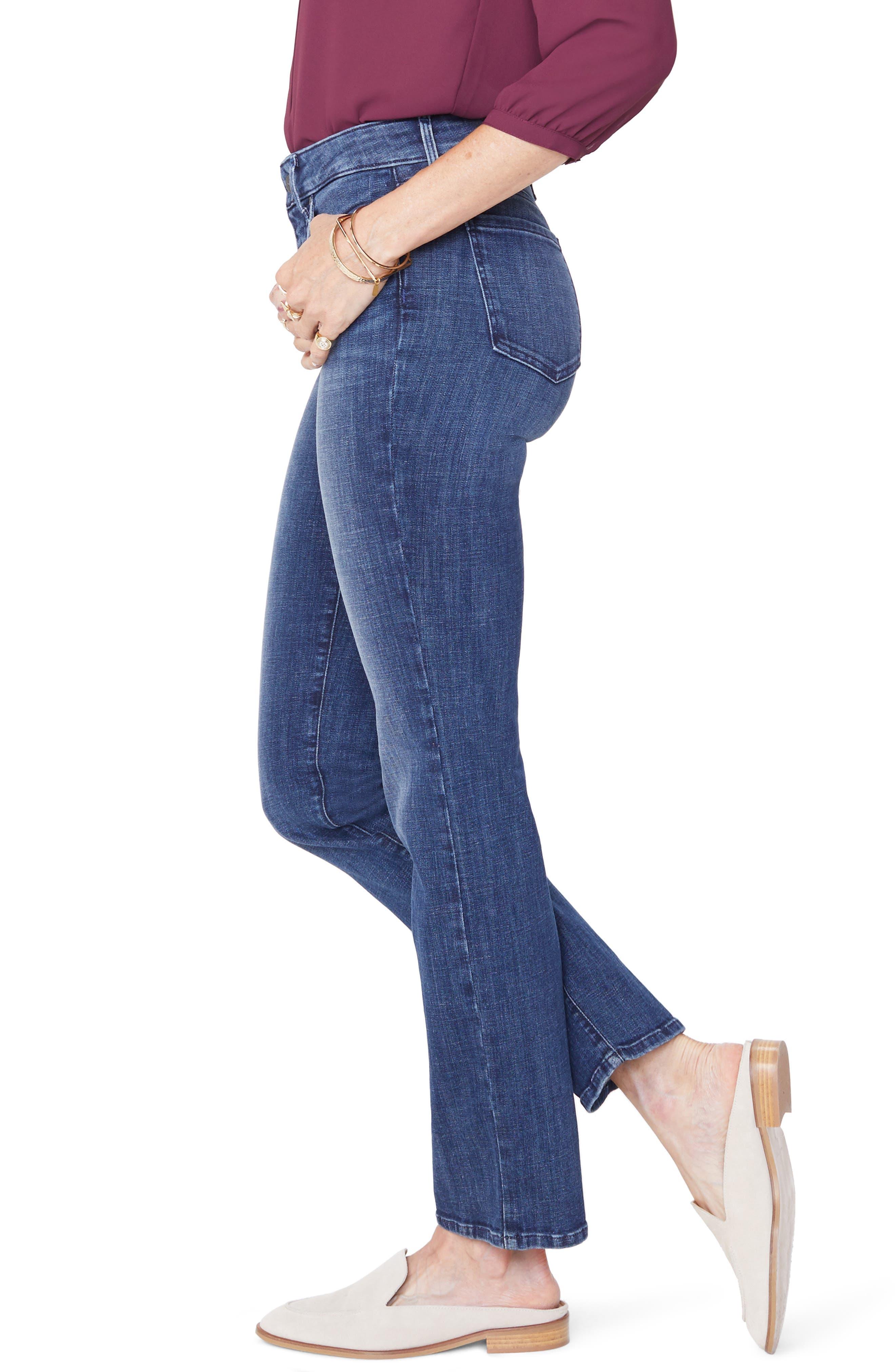 Marilyn Straight Leg Jeans,                             Alternate thumbnail 3, color,                             LUPINE