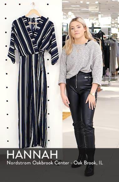 Crossover Stripe Jumpsuit, sales video thumbnail
