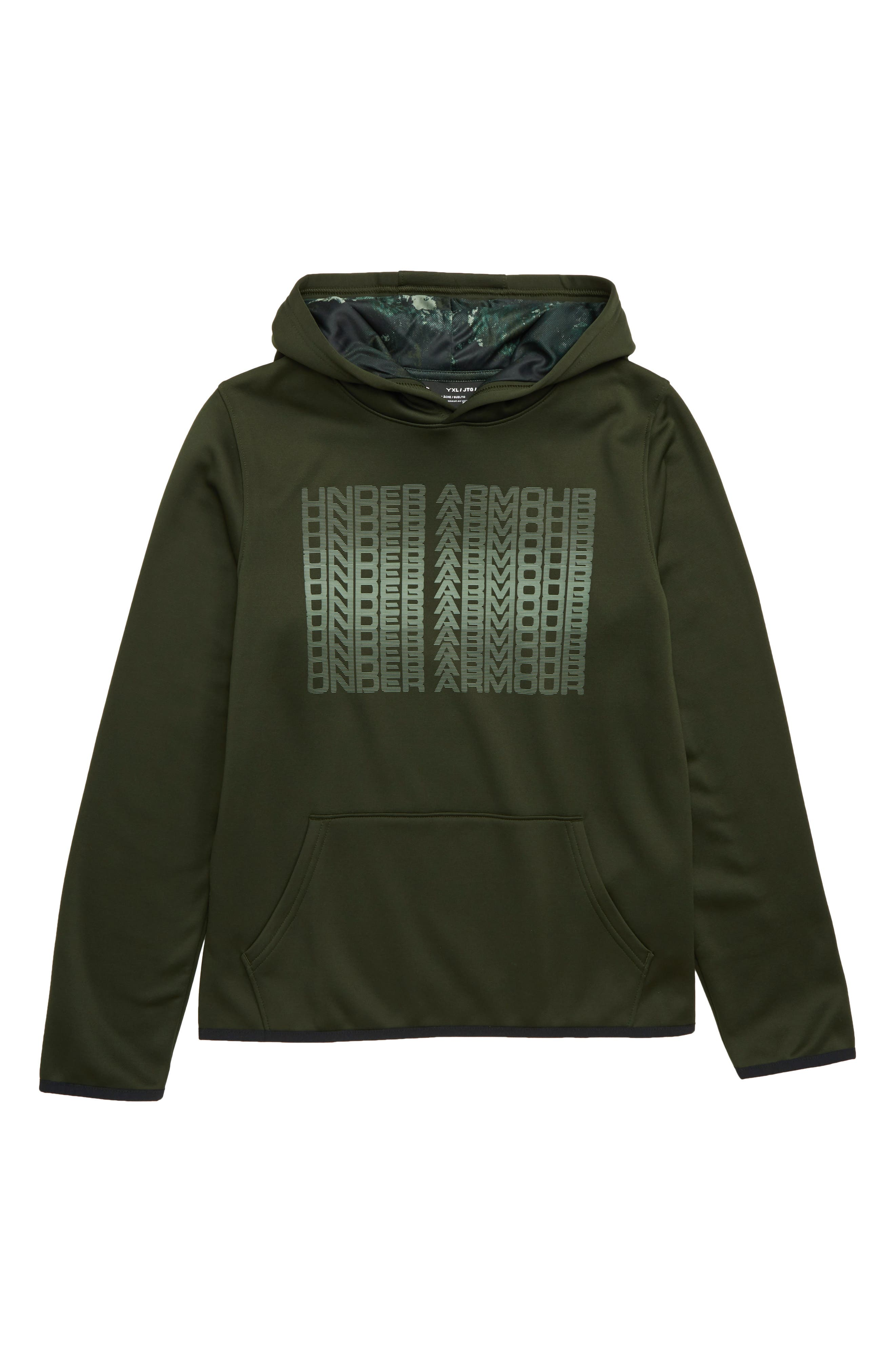 Armour Fleece<sup>®</sup> Logo Graphic Hoodie,                             Main thumbnail 1, color,                             357