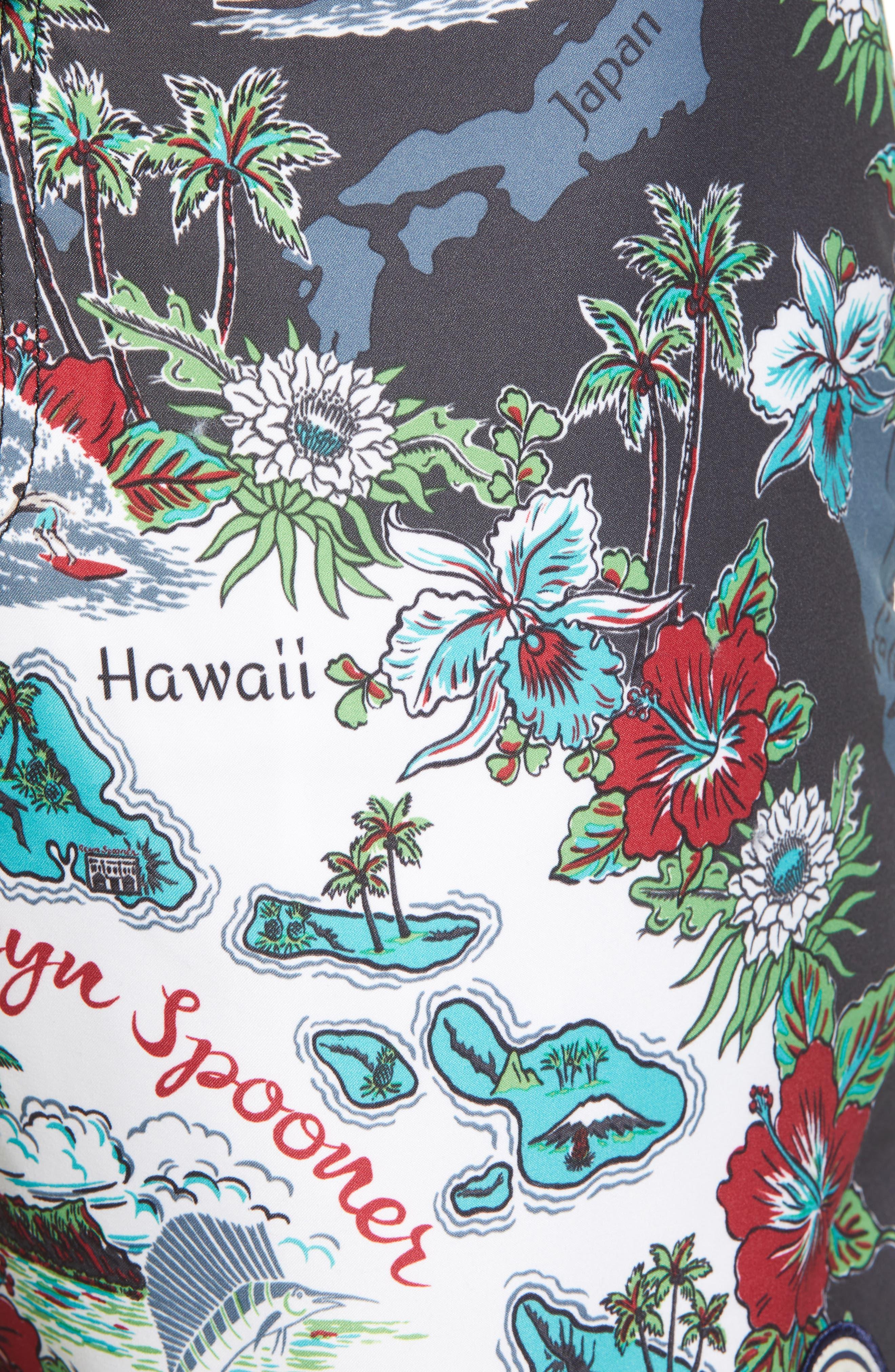Status Oceanic Regular Fit Board Shorts,                             Alternate thumbnail 9, color,