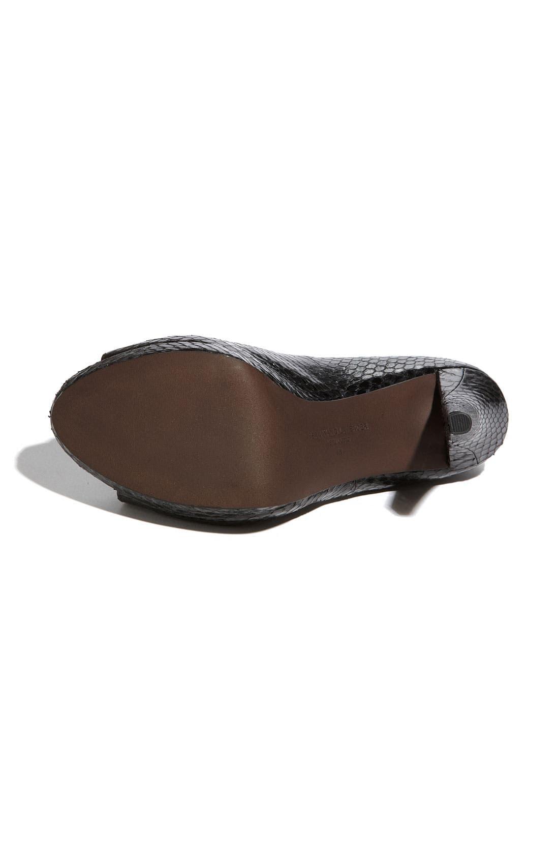 Footwear 'Selima' Peep Toe Pump,                             Alternate thumbnail 7, color,
