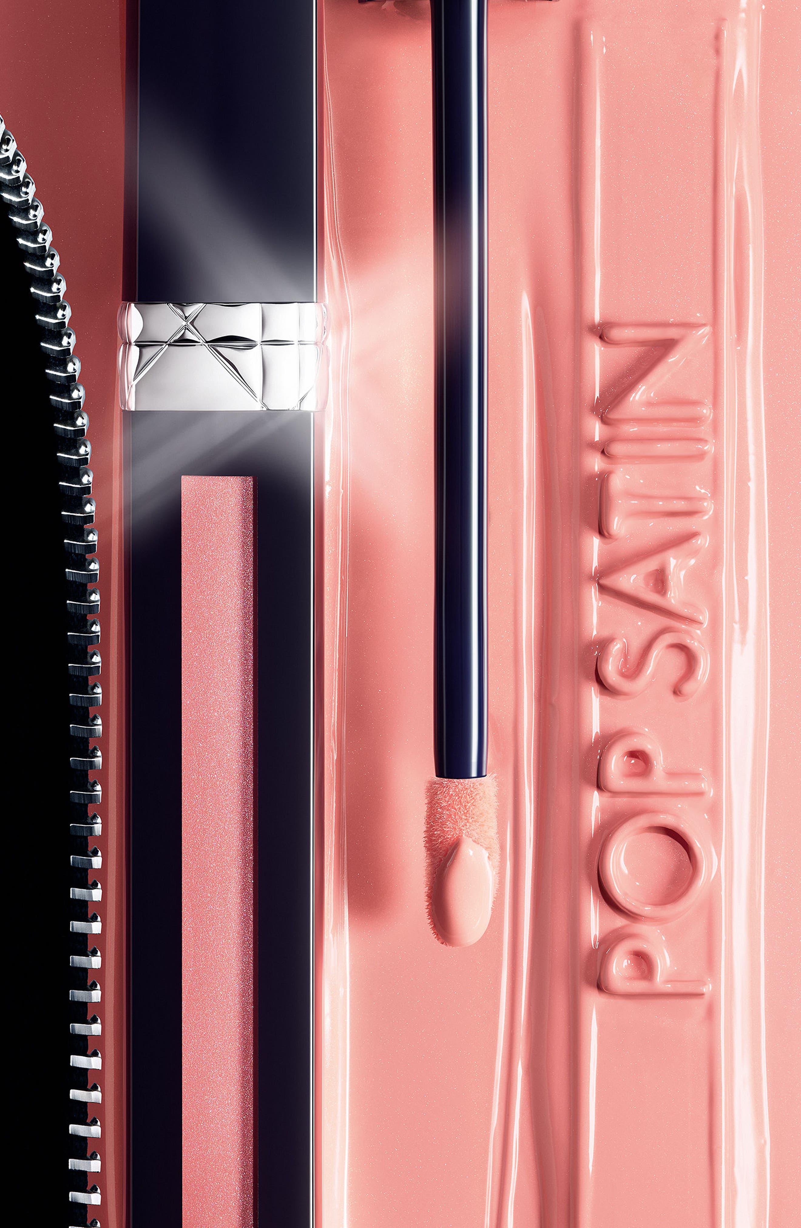 Rouge Dior Liquid Lip Stain,                             Alternate thumbnail 3, color,                             162 MISS SATIN