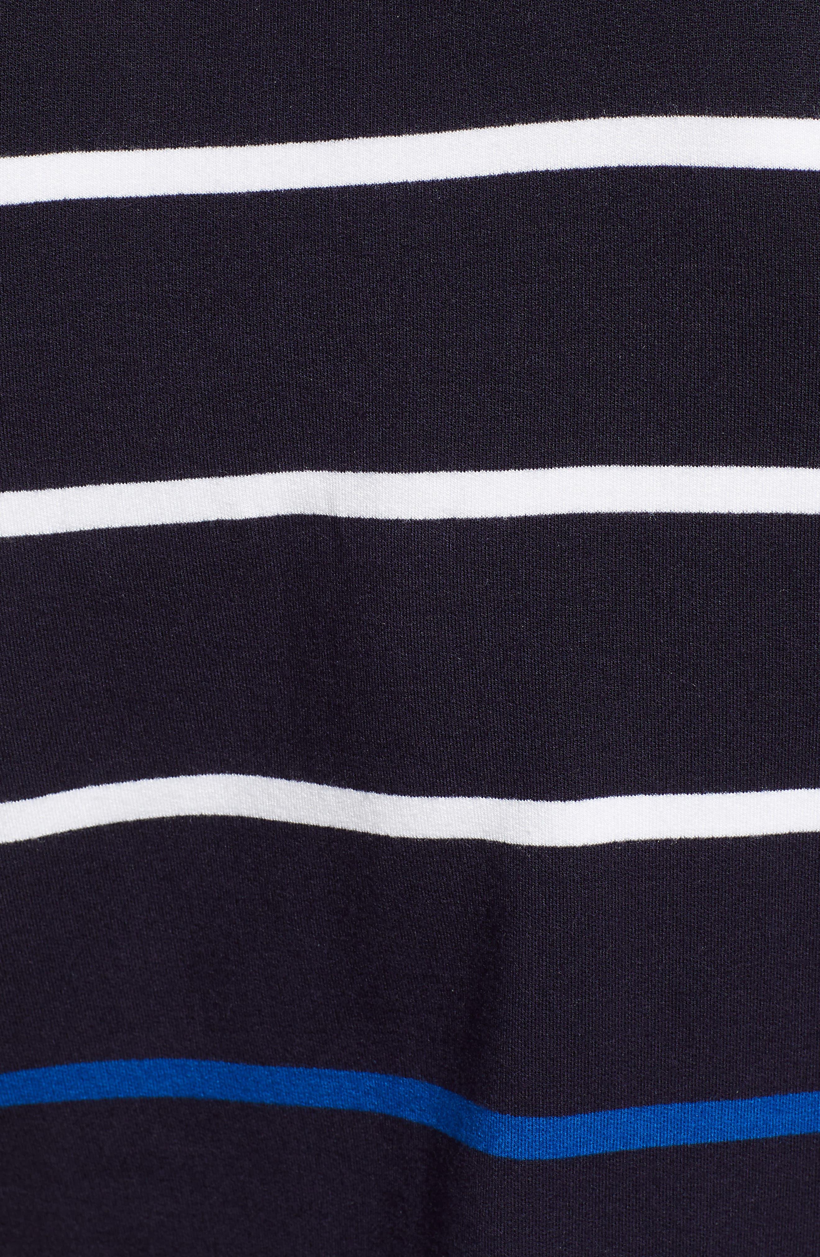 Colorblock Stripe Top,                             Alternate thumbnail 5, color,                             410