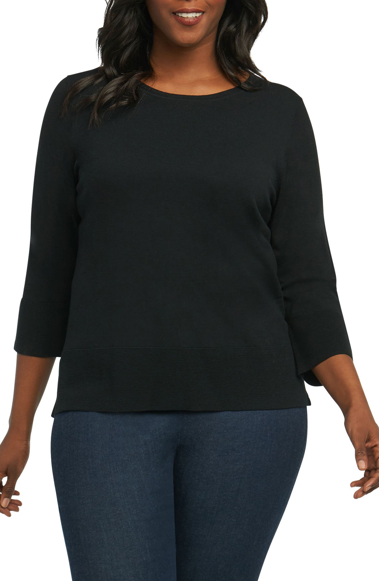 Leda Ottoman Rib Sweater,                         Main,                         color,