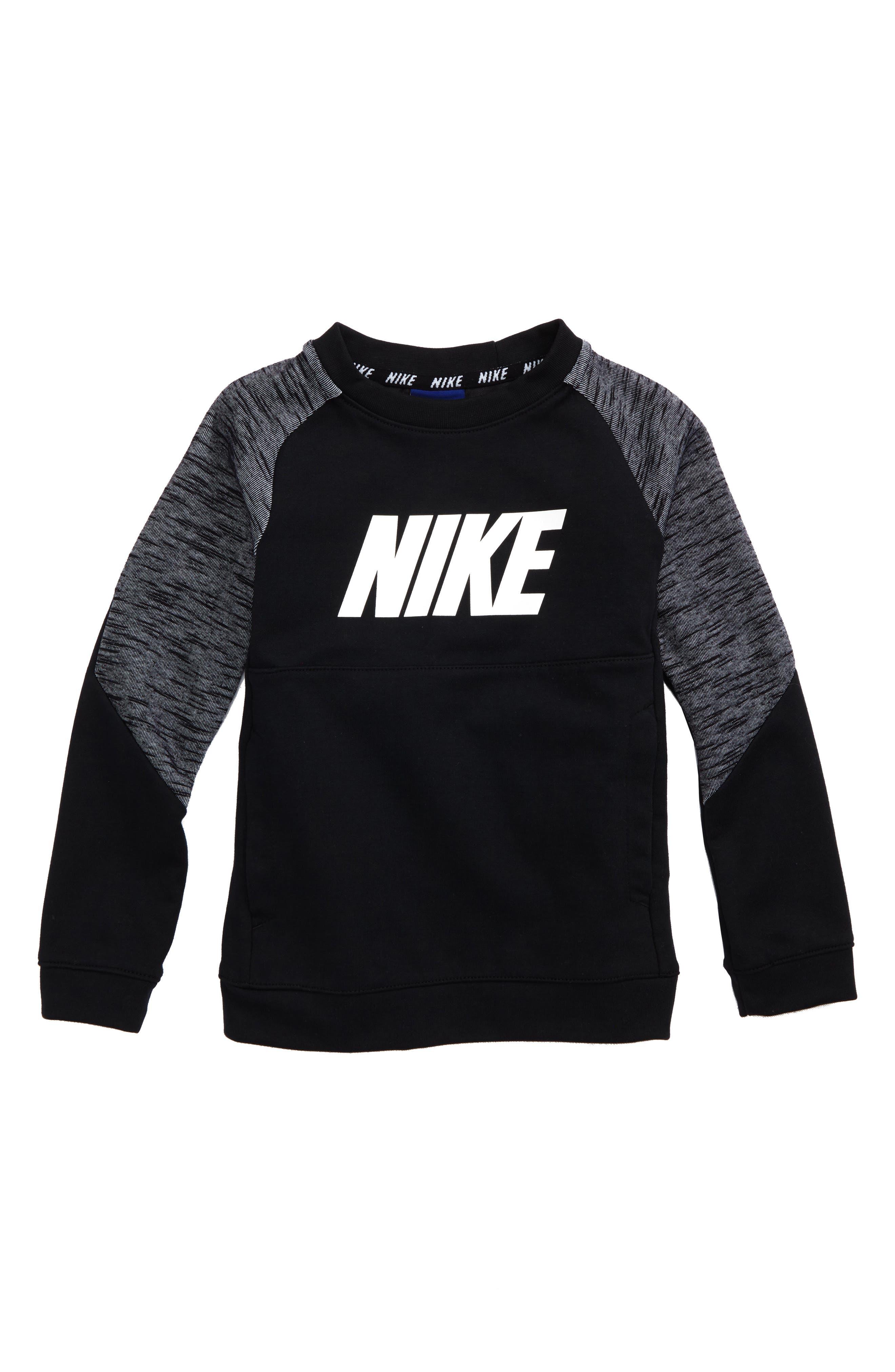 Raglan Sleeve Sweatshirt,                         Main,                         color, 004