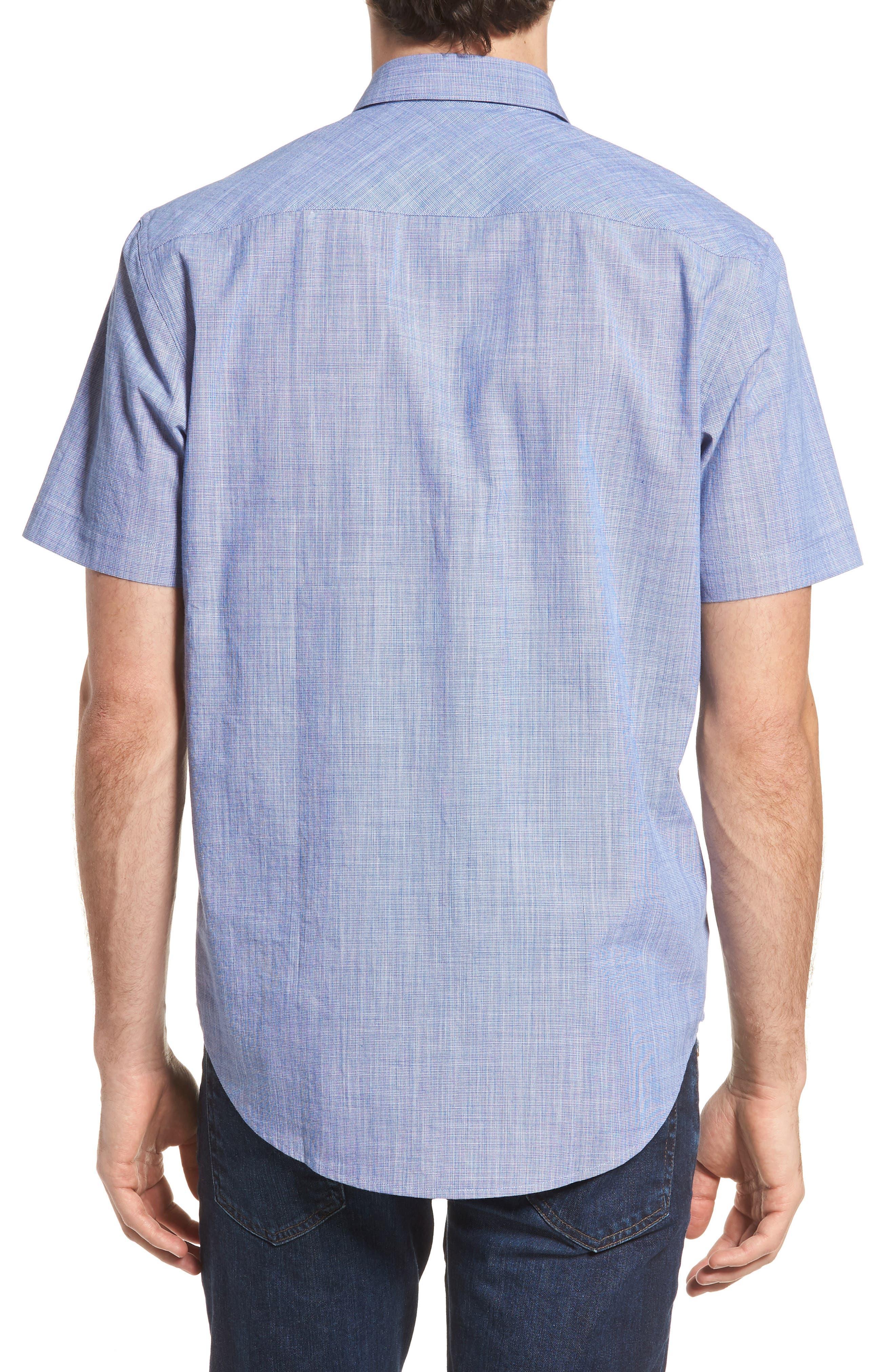 Savas Regular Fit Sport Shirt,                             Alternate thumbnail 3, color,