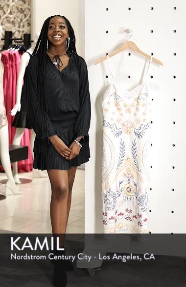 Artemisia Tea Length Dress, sales video thumbnail