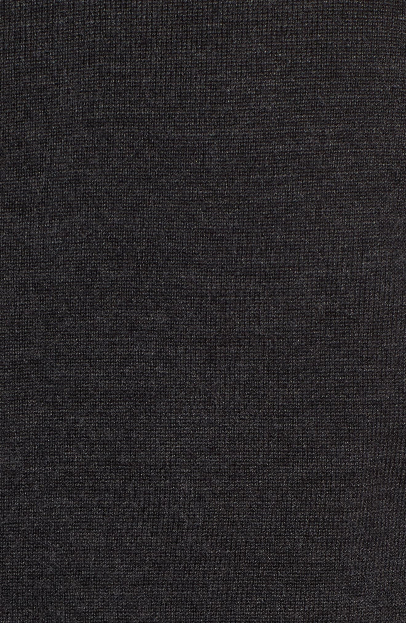 Merino Blend Full Zip Cardigan,                             Alternate thumbnail 5, color,                             020
