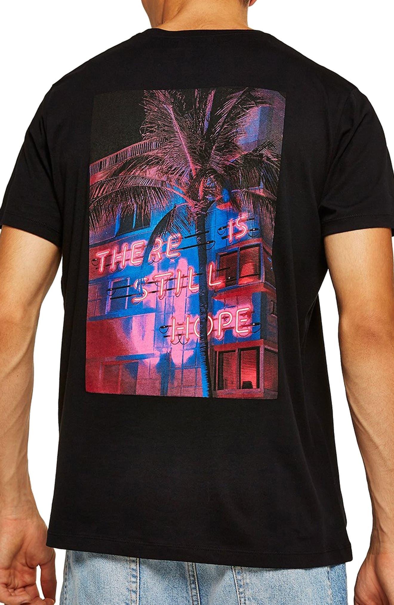 Still Hope Classic Fit T-Shirt,                             Alternate thumbnail 2, color,                             BLACK MULTI