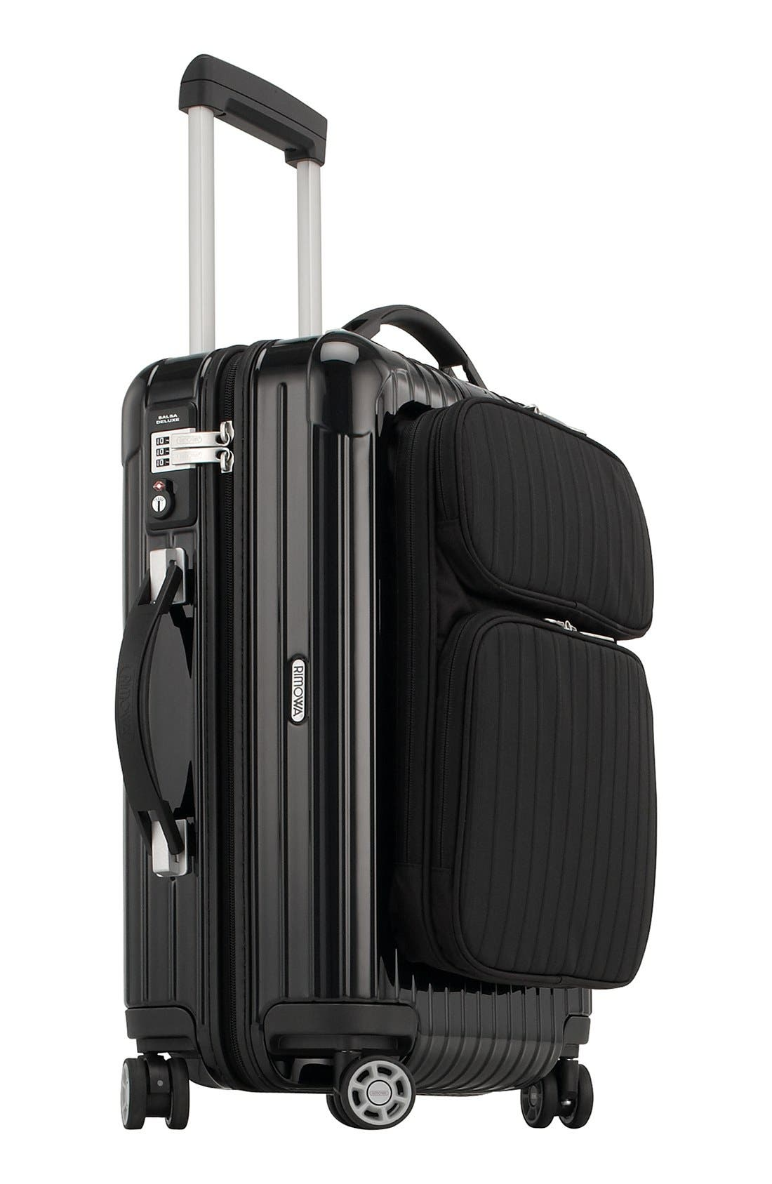 Salsa Deluxe Hybrid 22-Inch Multiwheel<sup>®</sup> Carry-On,                             Alternate thumbnail 3, color,                             001