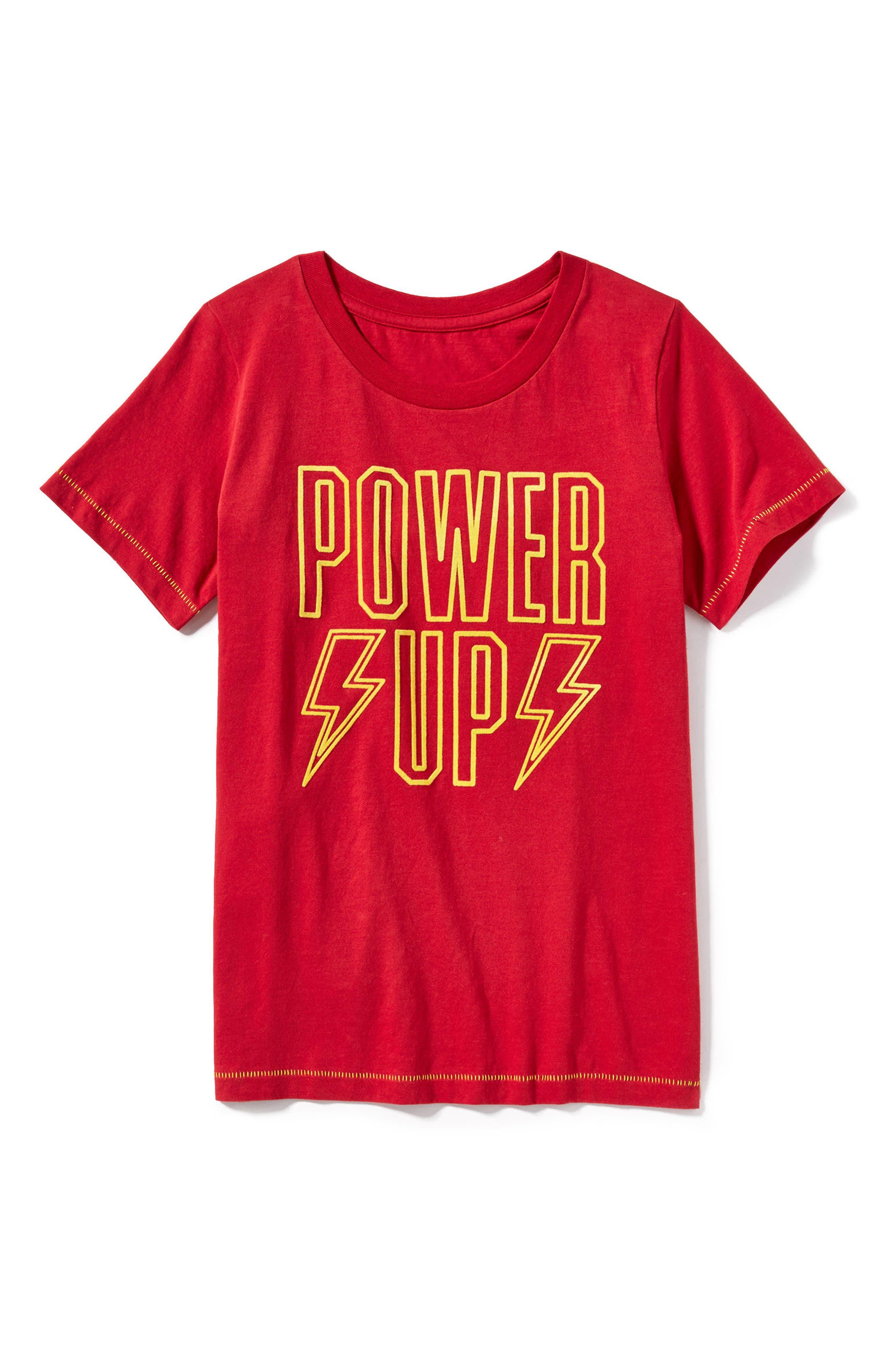 Power Up T-Shirt,                             Alternate thumbnail 2, color,                             600