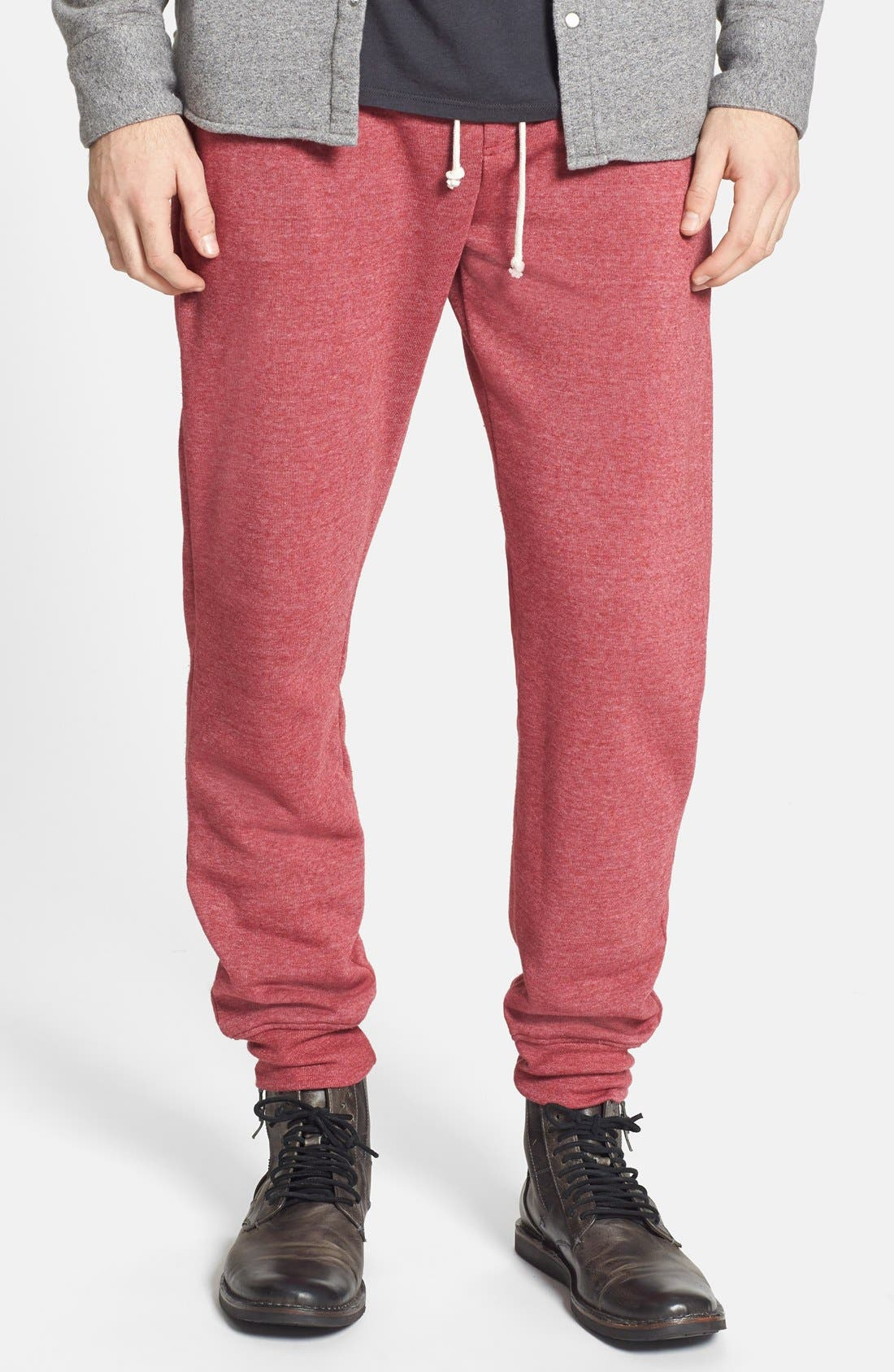 'Dodgeball' Eco Fleece Sweatpants,                             Main thumbnail 6, color,