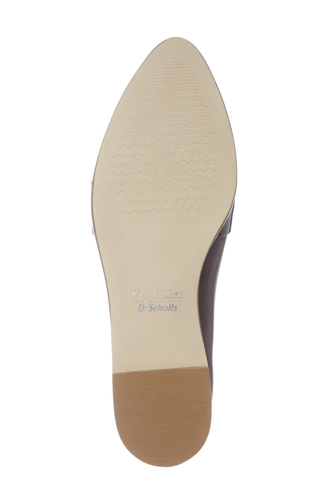 'Ashah' Pointed Toe Flat,                             Alternate thumbnail 4, color,                             001