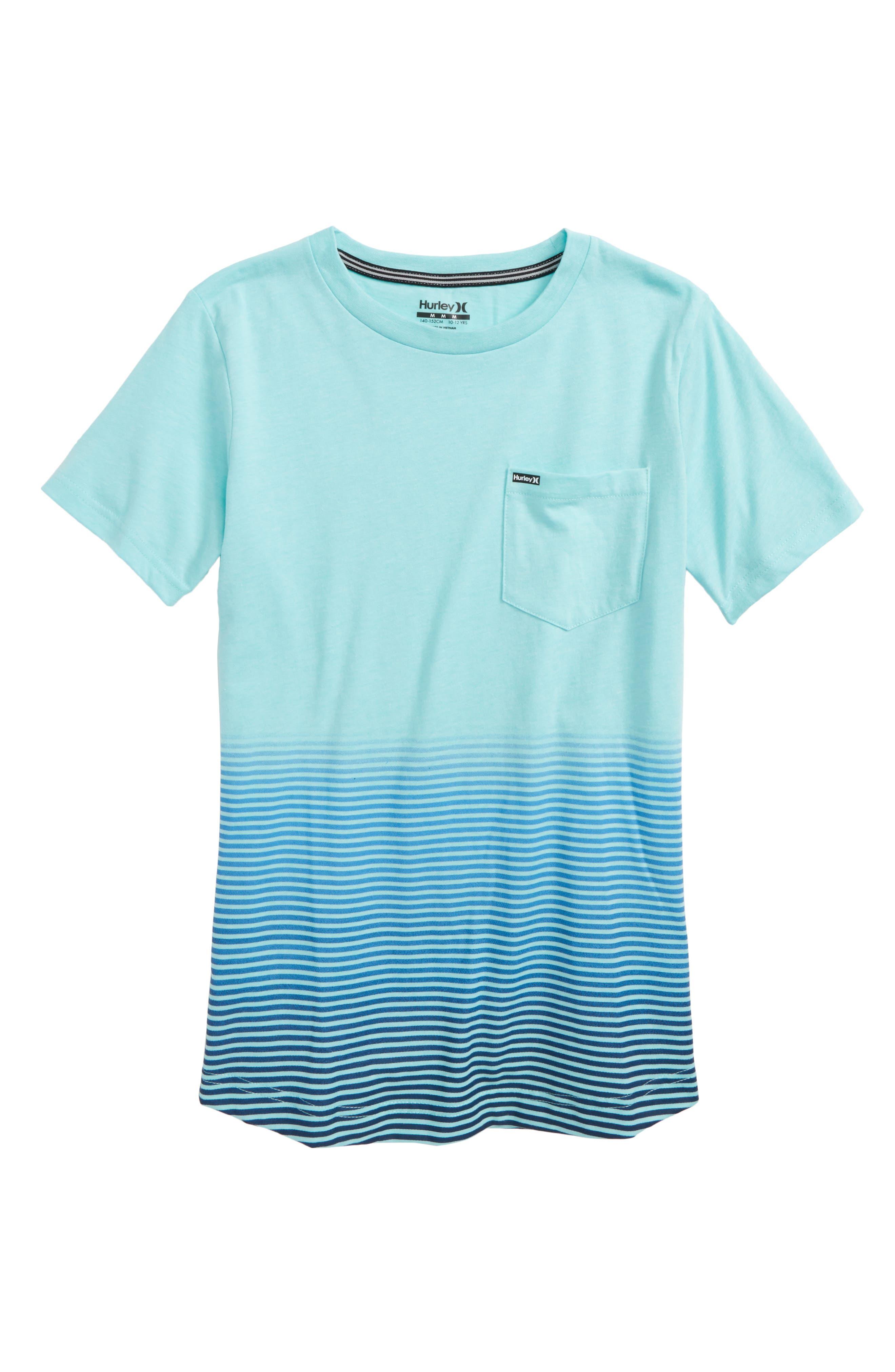 Ombré Stripe T-Shirt,                             Main thumbnail 3, color,