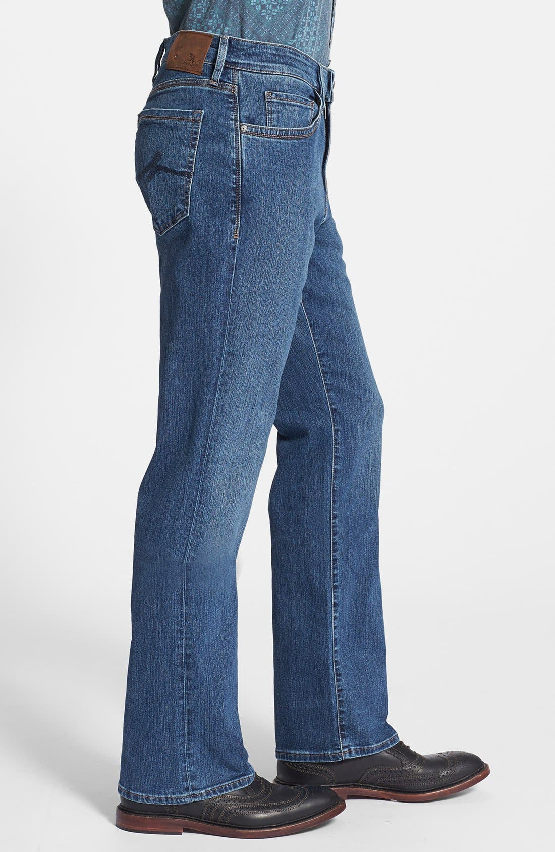 34 HERITAGE,                             'Charisma' Classic Relaxed Fit Jeans,                             Alternate thumbnail 3, color,                             MID COMFORT