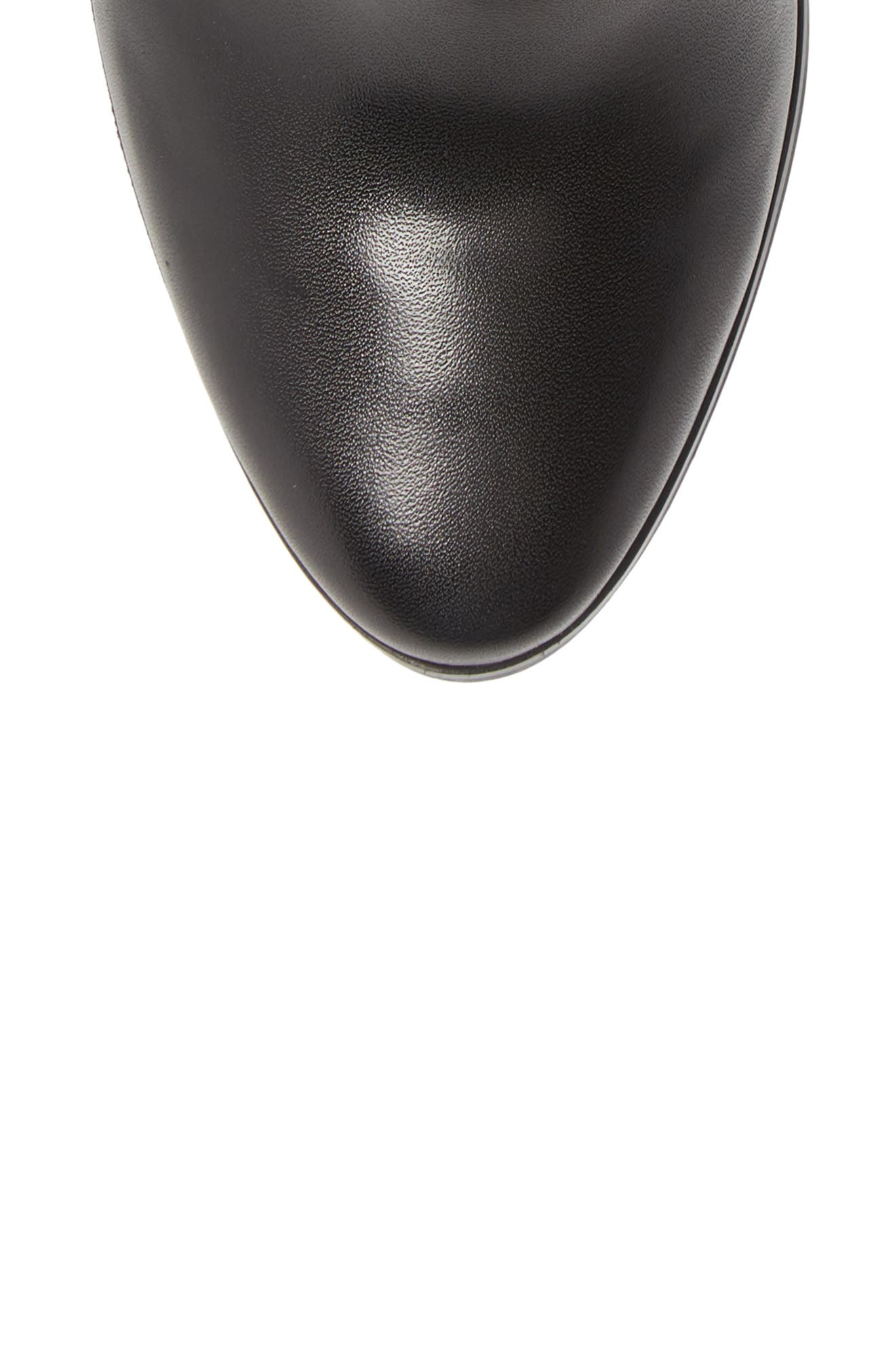 Walden Bootie,                             Alternate thumbnail 5, color,                             BLACK VACHETTA LEATHER