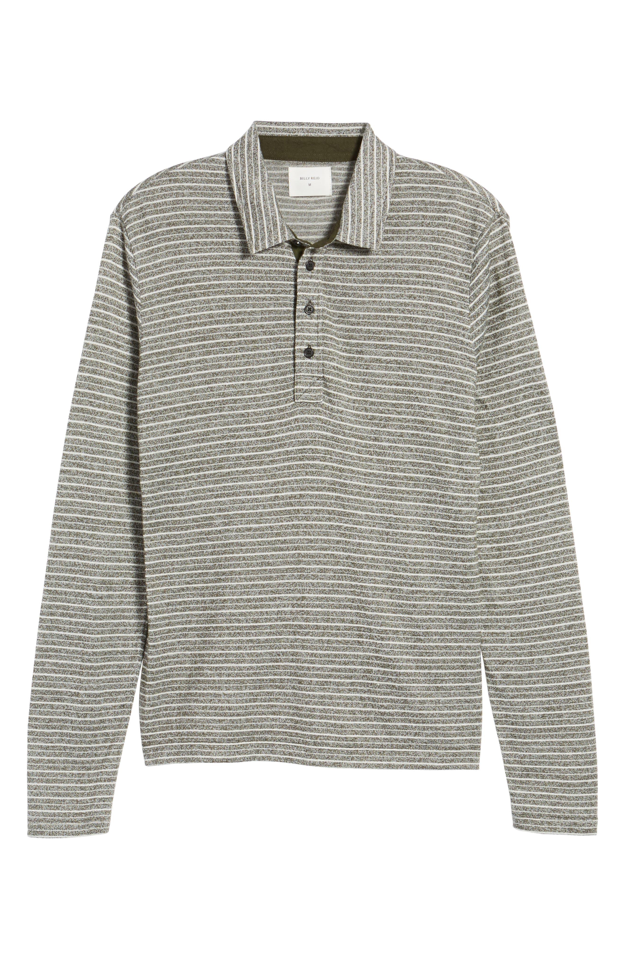 Smith Slim Fit Stripe Polo,                             Alternate thumbnail 16, color,