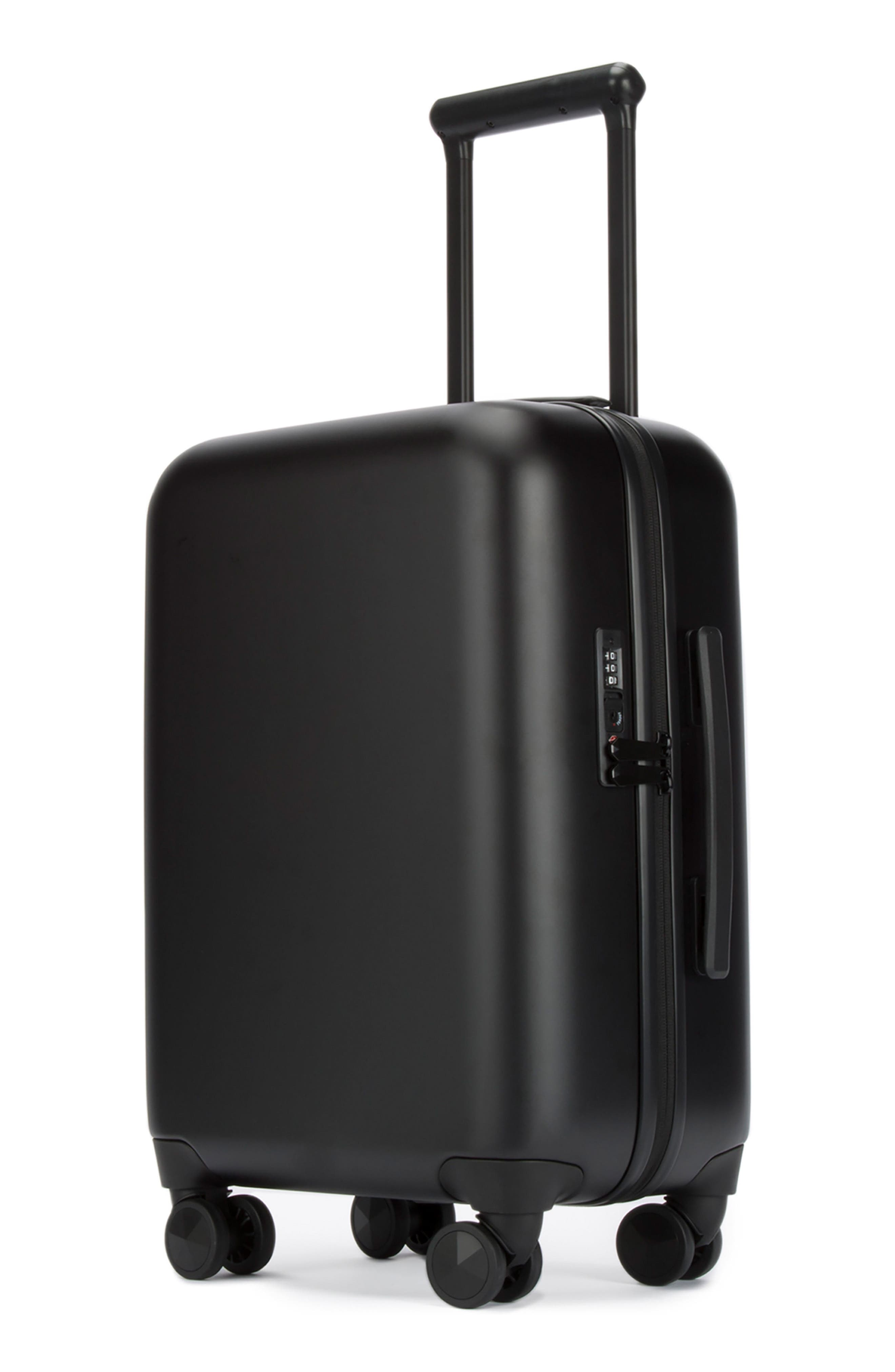 22-Inch Spinner Carry-On,                             Main thumbnail 1, color,                             MATTE BLACK
