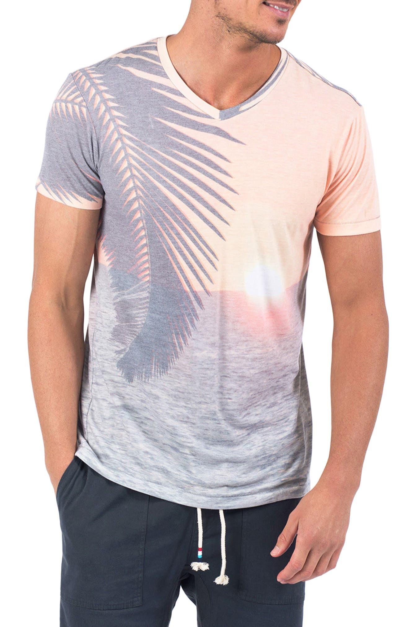 Sundown T-Shirt,                             Main thumbnail 1, color,                             020