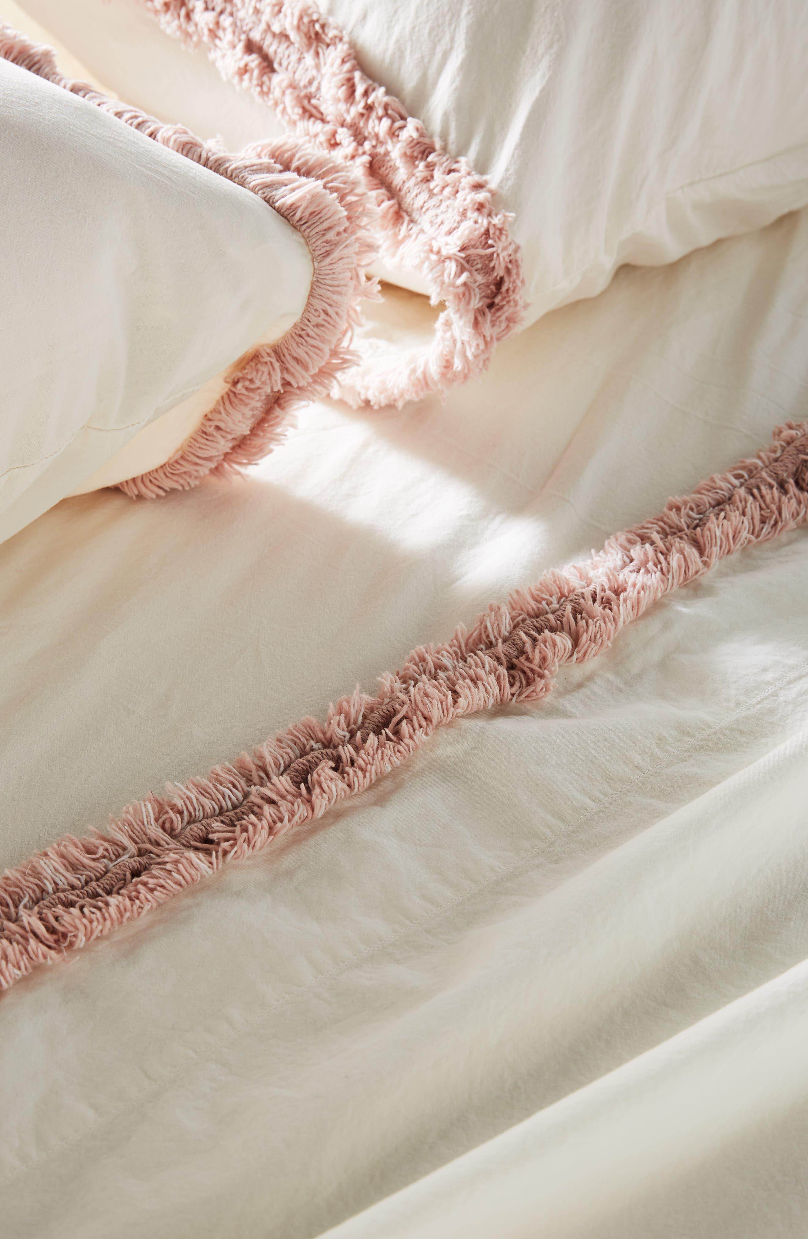 Pasha Set of 2 Pillowcases,                             Alternate thumbnail 2, color,                             WHITE