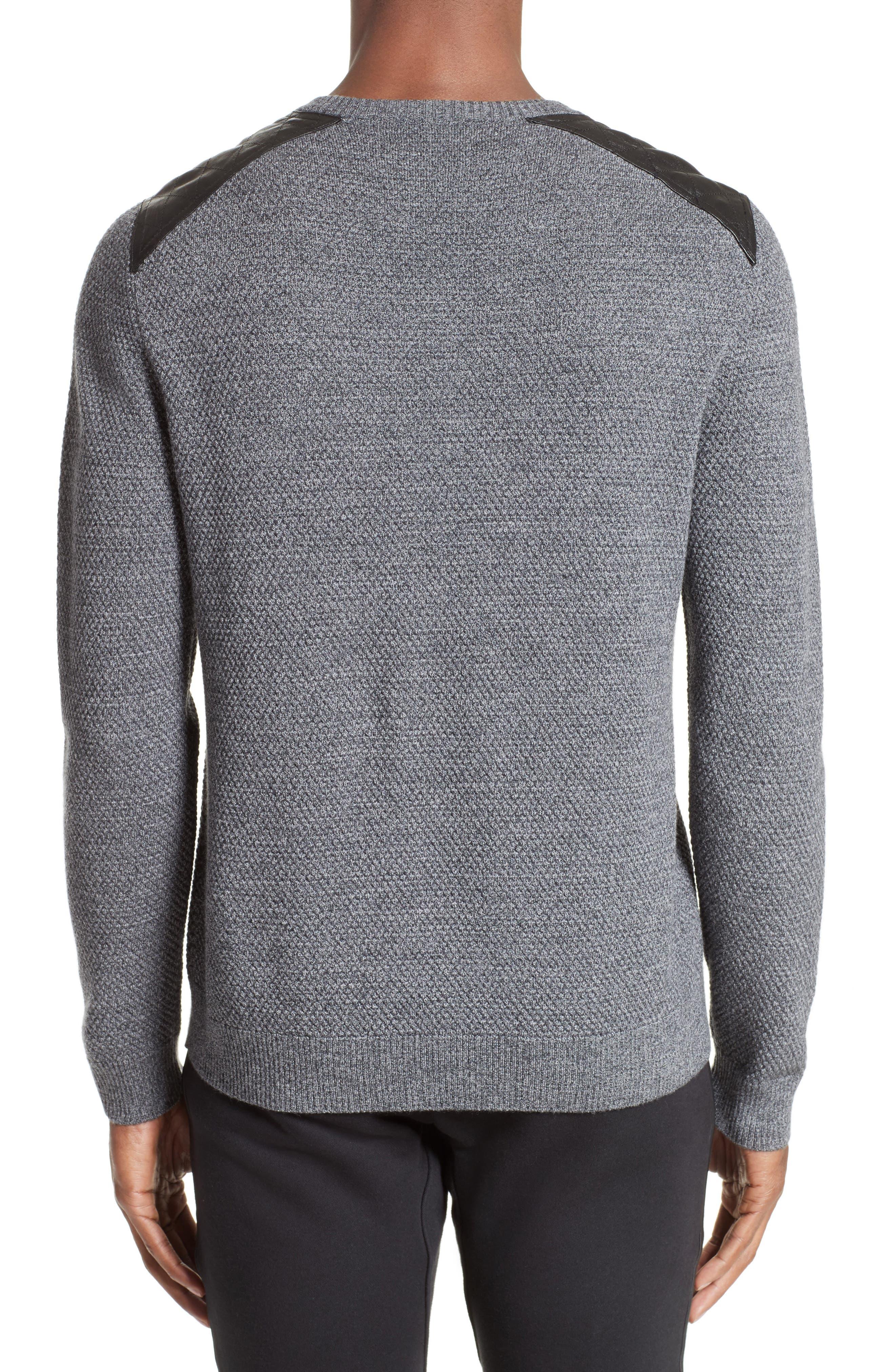 Merino Wool Sweater,                             Alternate thumbnail 2, color,                             020
