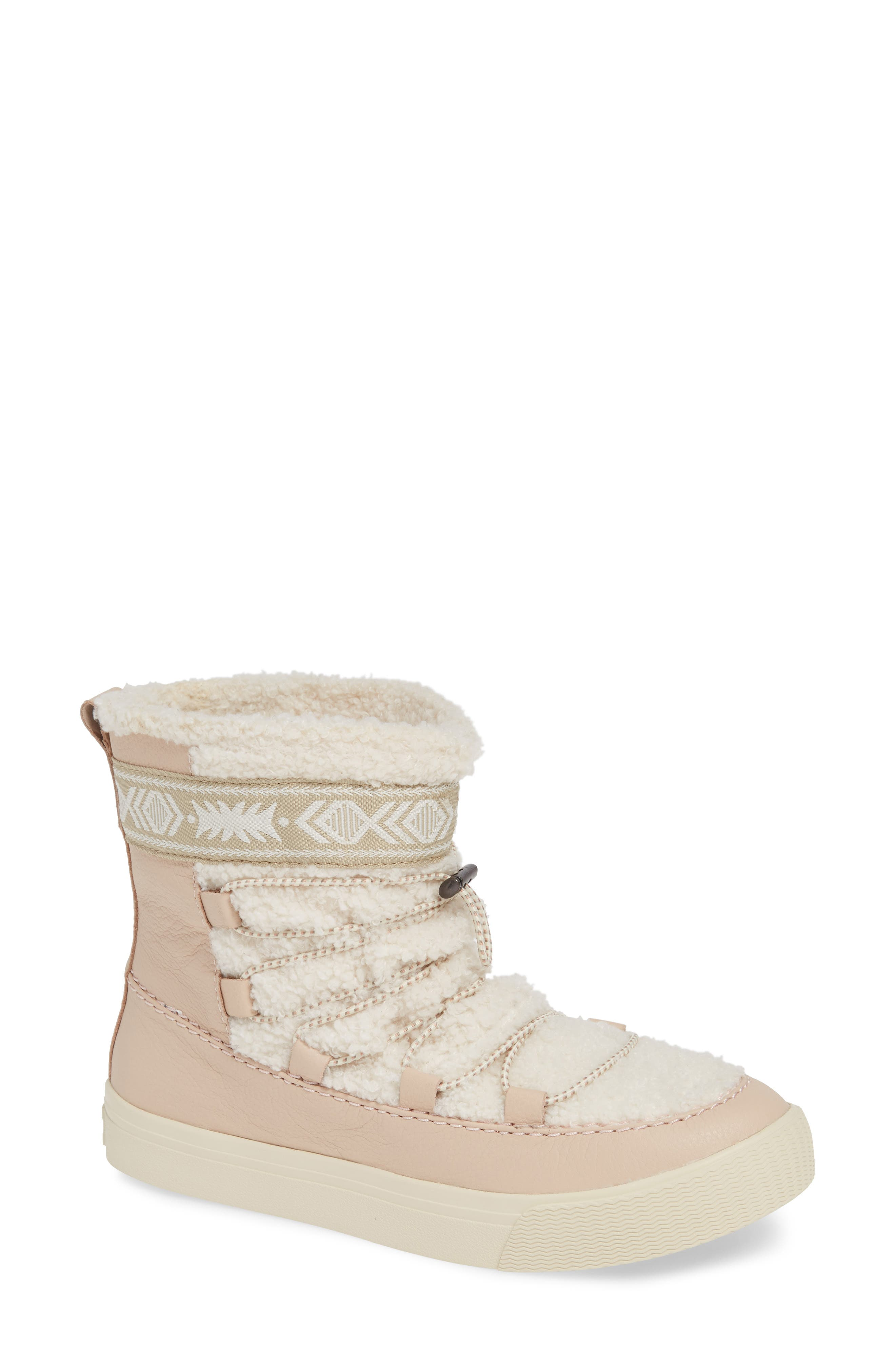 Toms Alpine Boot, Pink