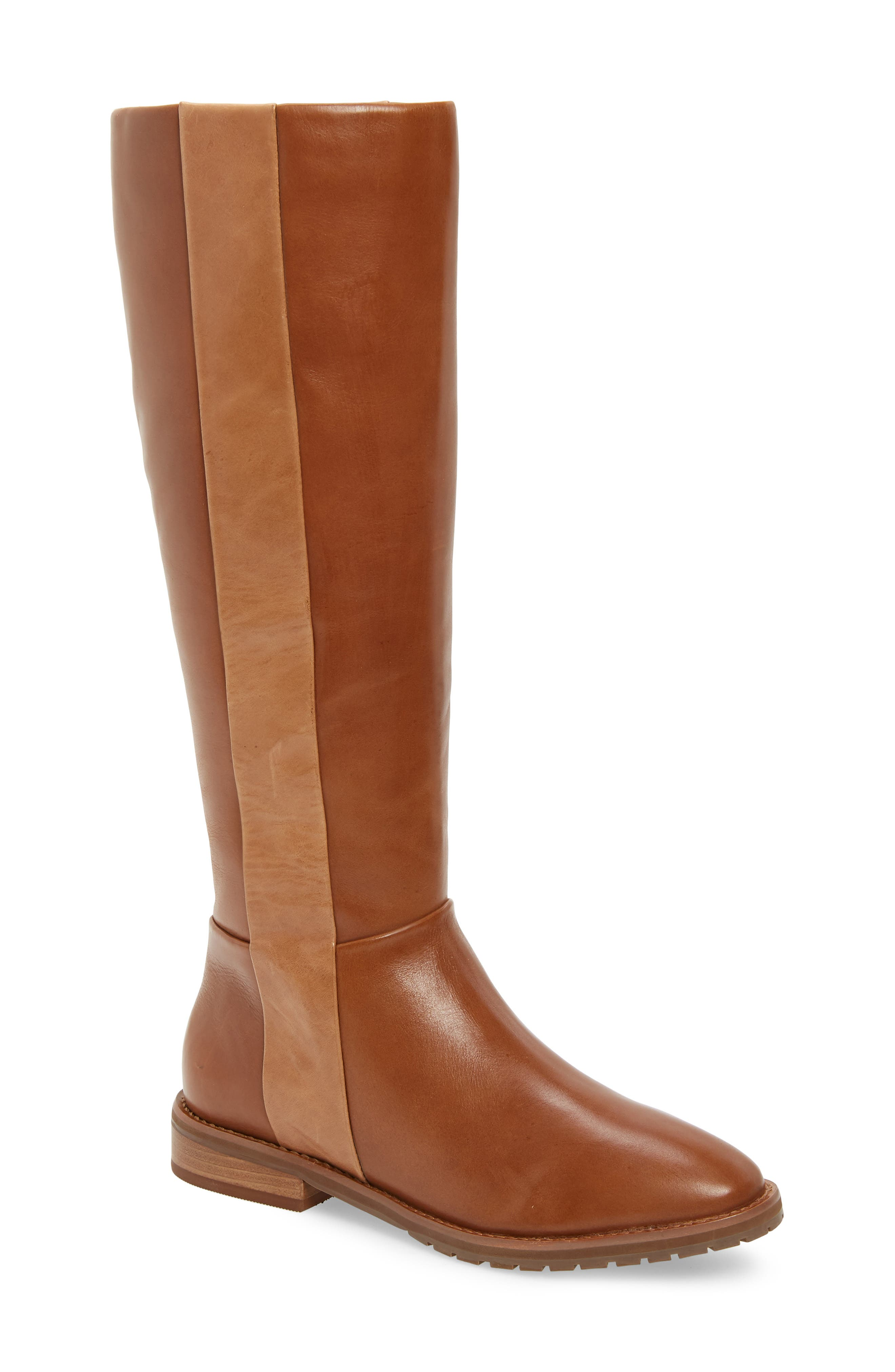 LUST FOR LIFE Mindset Knee High Boot in Cognac Leather