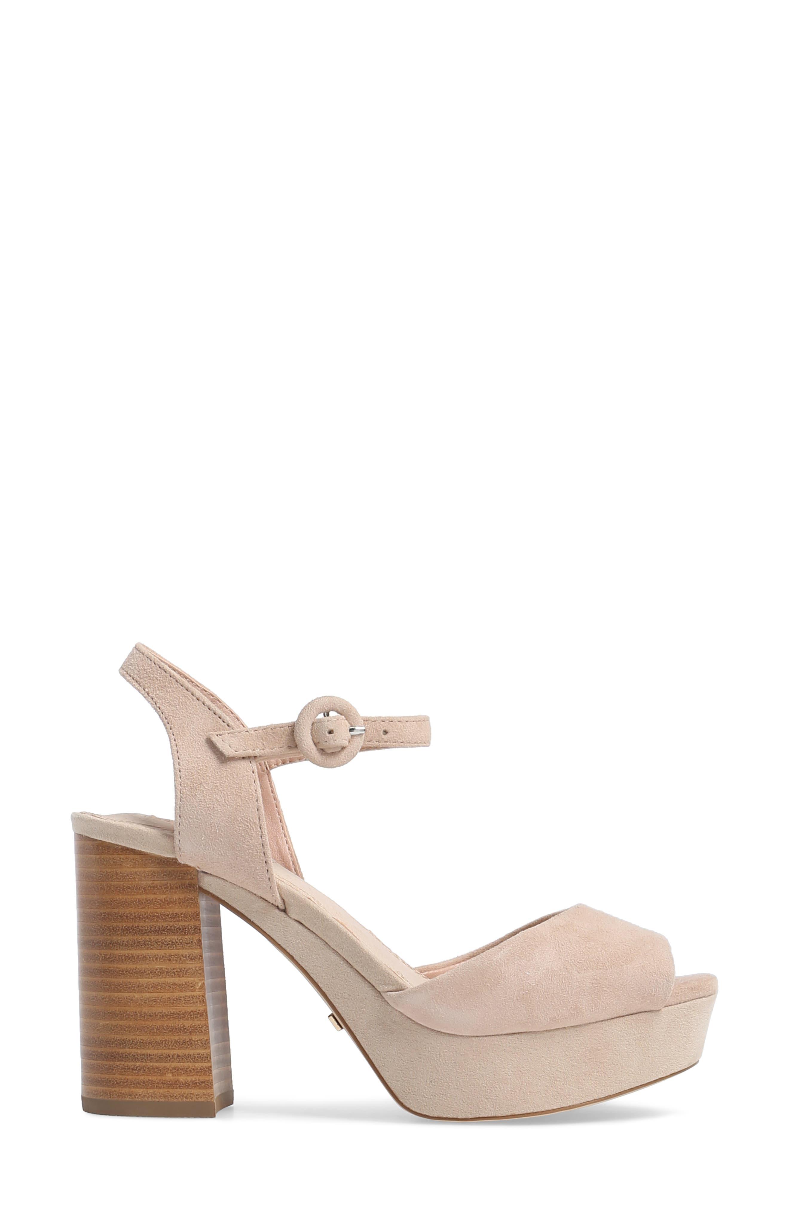 'Lana' Chunky Platform Sandal,                             Alternate thumbnail 3, color,                             250