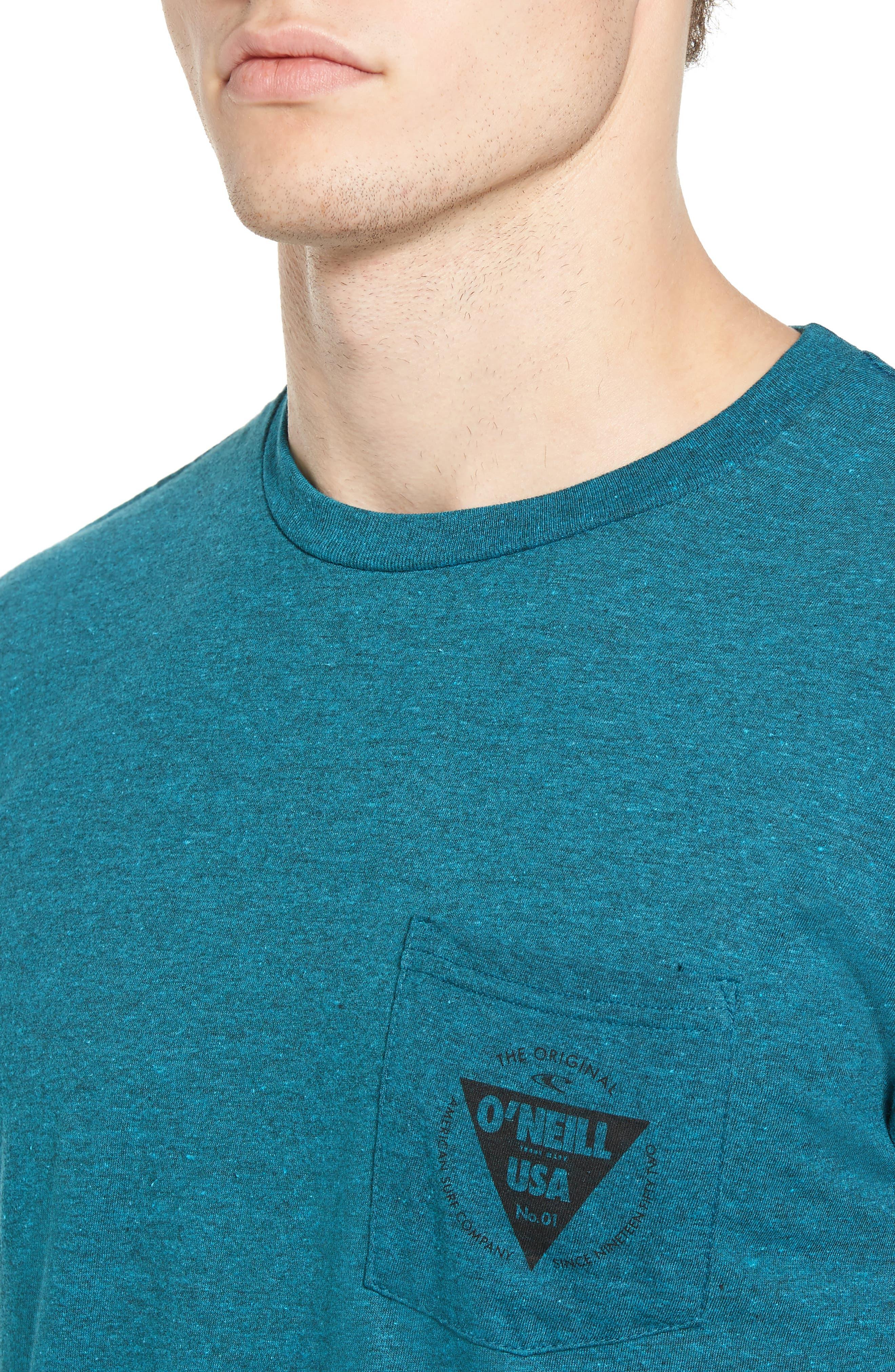 Diver Graphic Pocket T-Shirt,                             Alternate thumbnail 12, color,