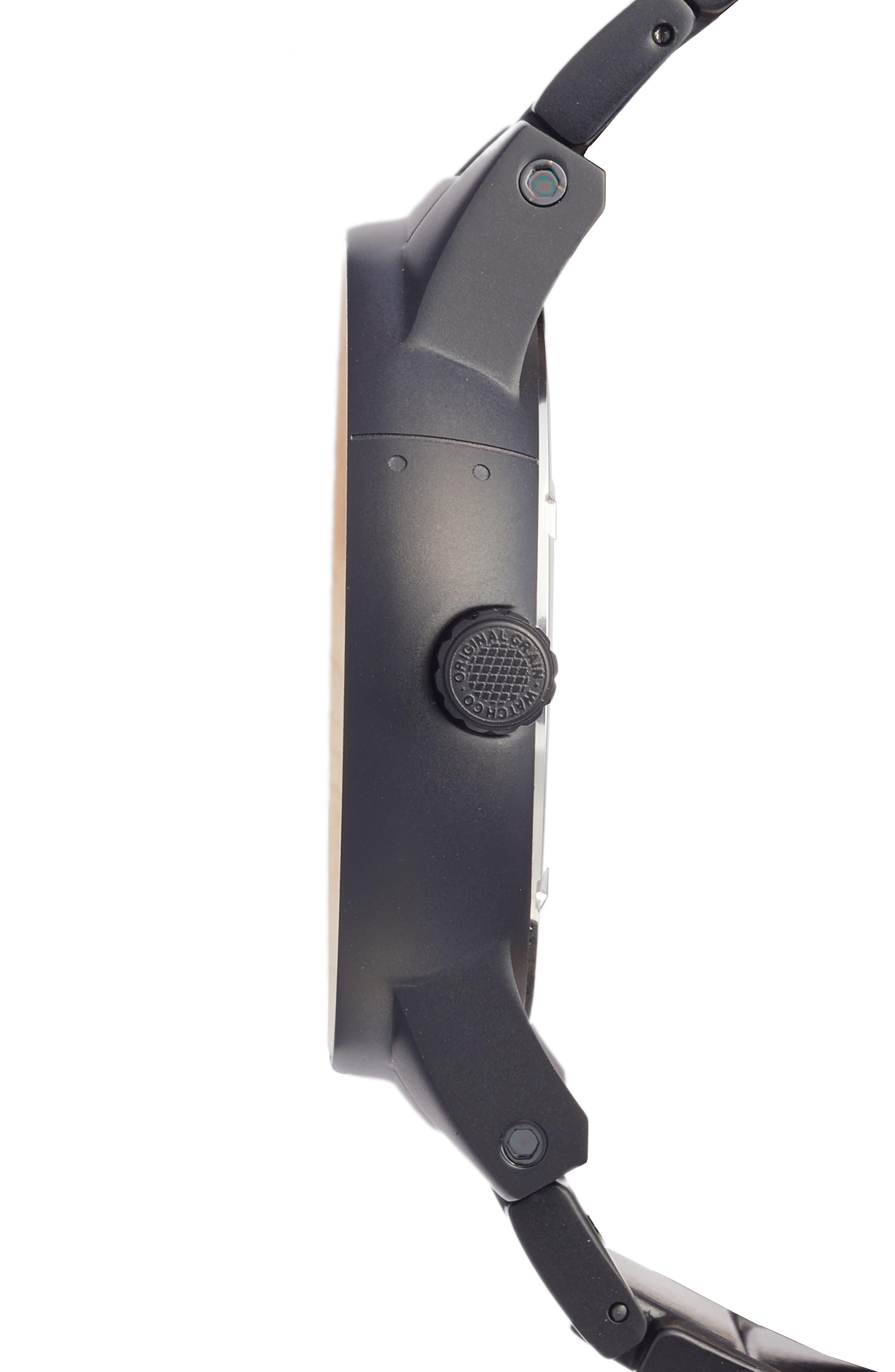 The Barrel Bracelet Watch, 47mm,                             Alternate thumbnail 3, color,                             001