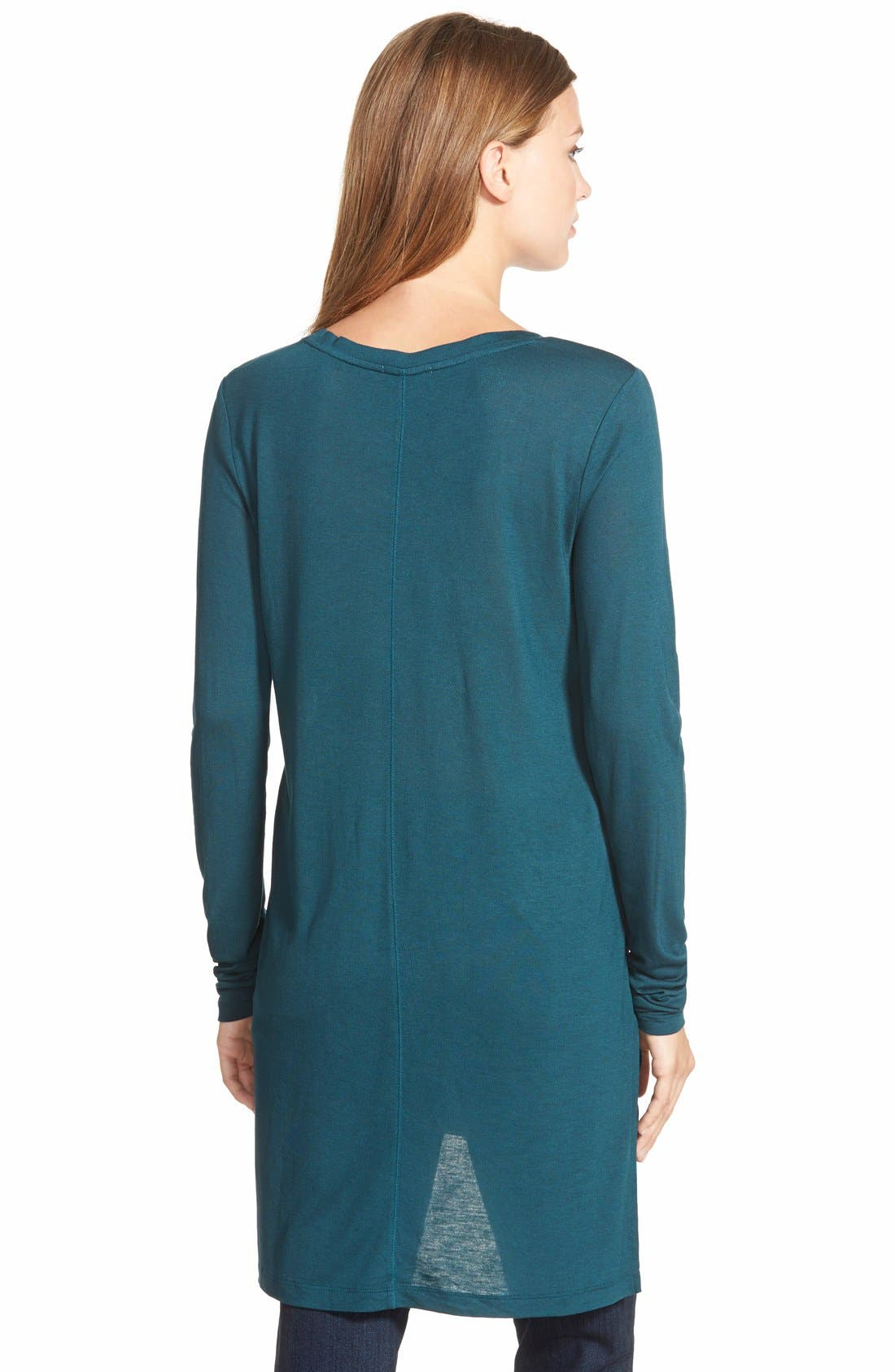Long Sleeve Lightweight Tunic,                             Alternate thumbnail 16, color,