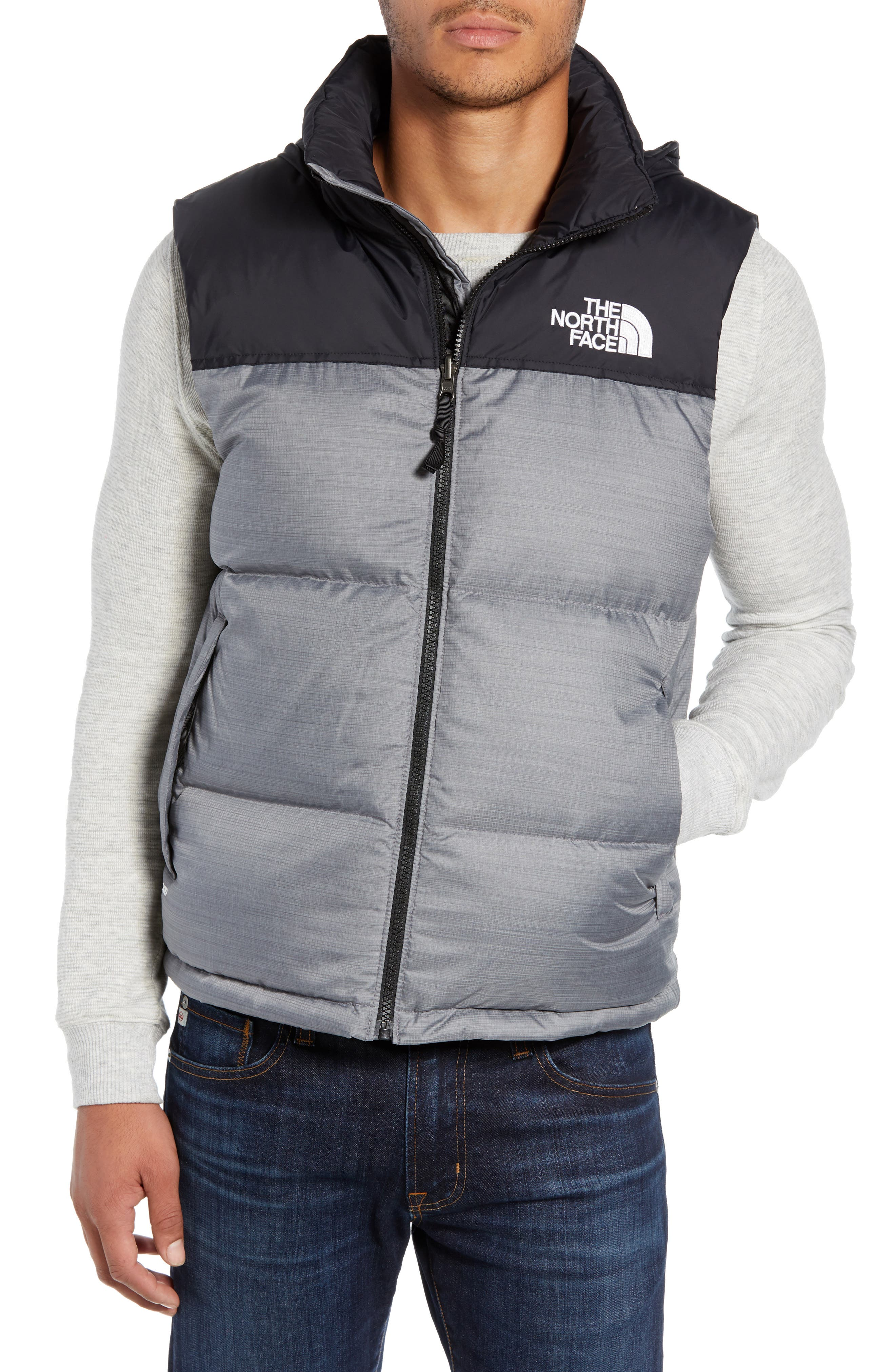 The North Face Nuptse 1996 Packable Quilted Down Vest, Grey