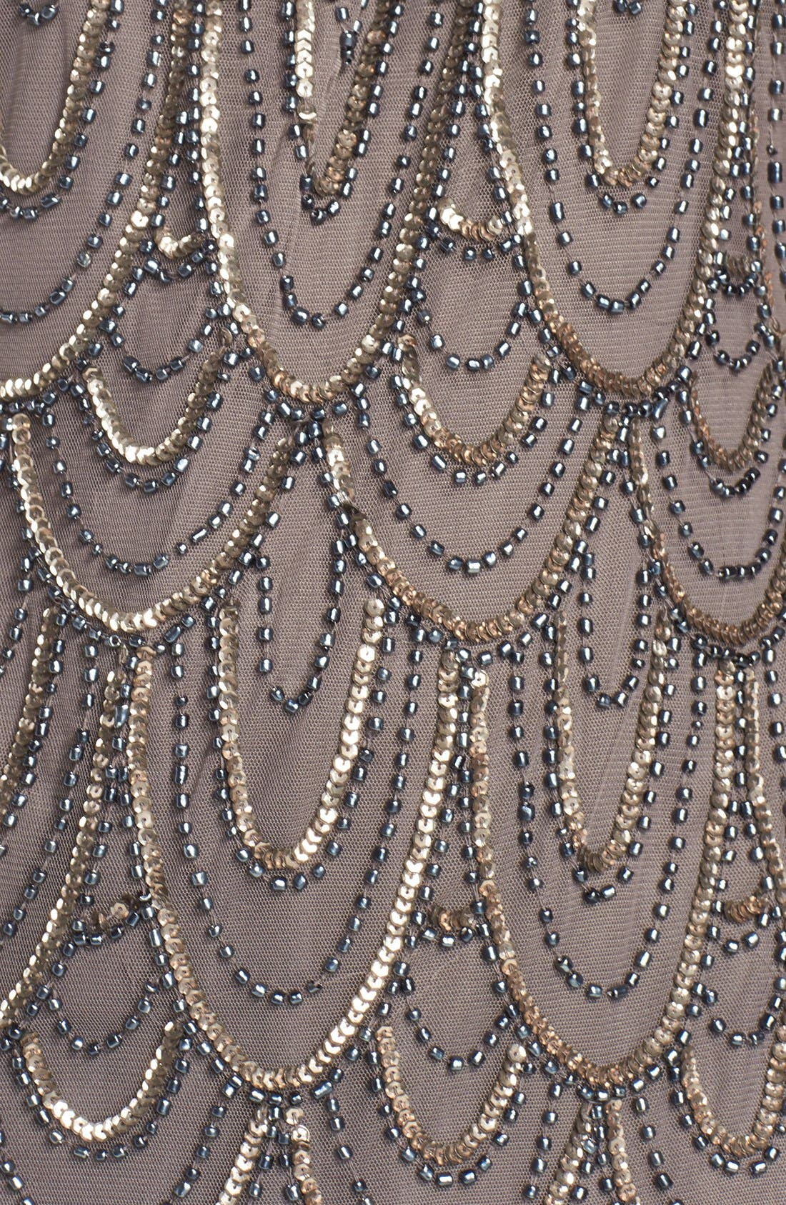 Embellished Mesh Sheath Dress,                             Alternate thumbnail 85, color,