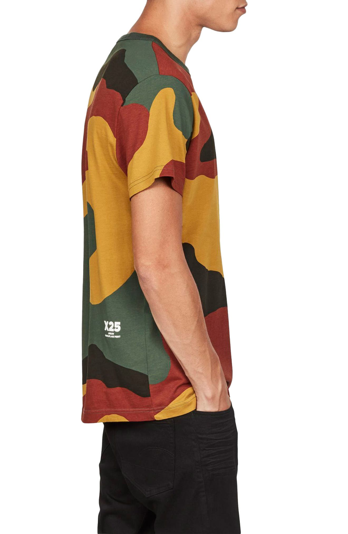 Jigsaw Camo T-Shirt,                             Alternate thumbnail 3, color,                             100