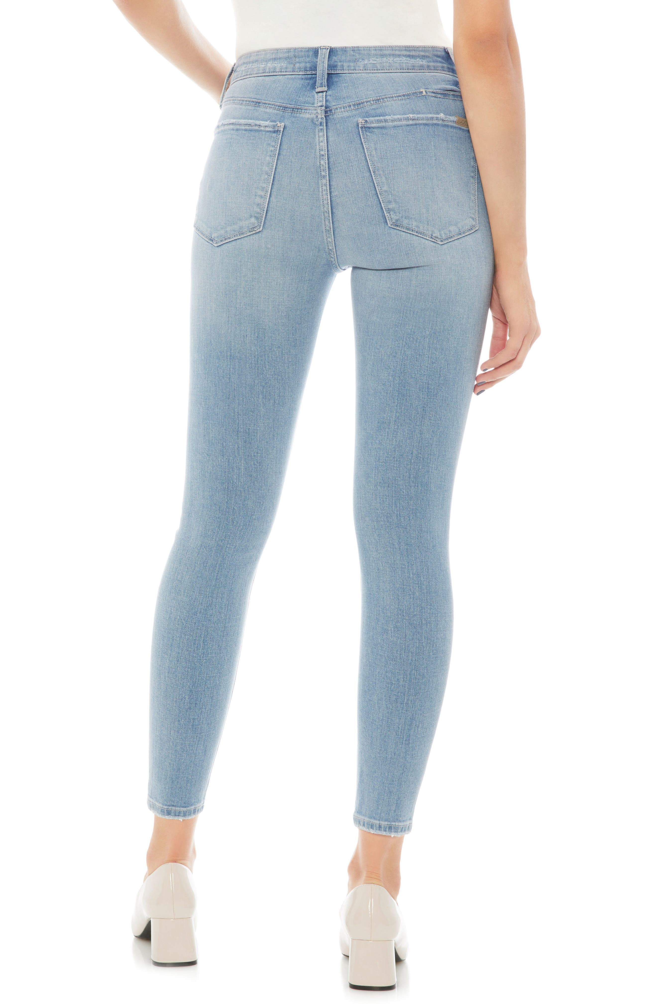 Charlie Ripped High Waist Crop Jeans,                             Alternate thumbnail 2, color,                             STASEY