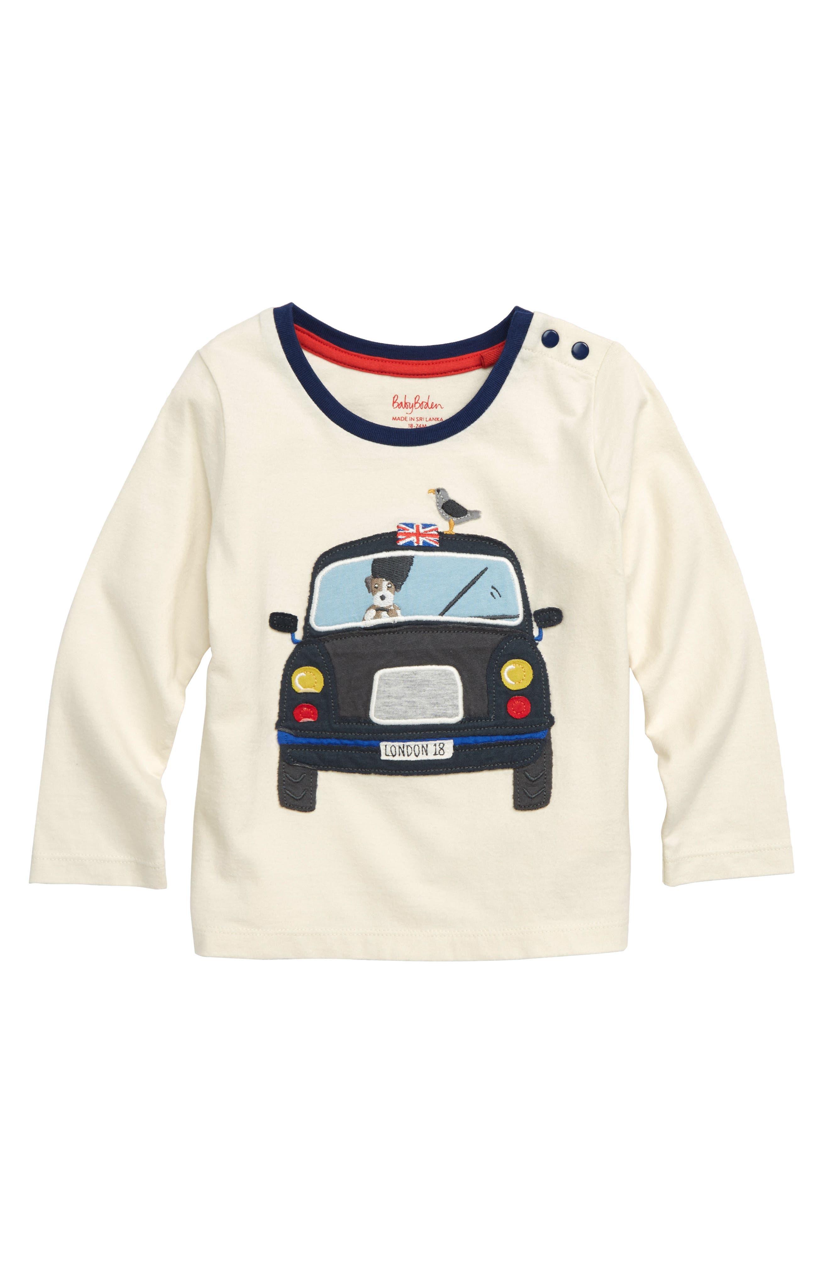 Transport Appliqué T-Shirt,                             Main thumbnail 1, color,                             114