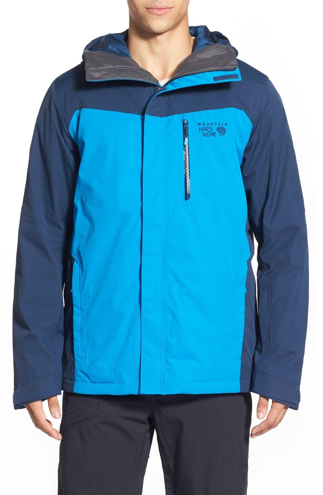 'Dragon's Back<sup>™</sup>' Waterproof Ski Jacket,                             Main thumbnail 1, color,                             425