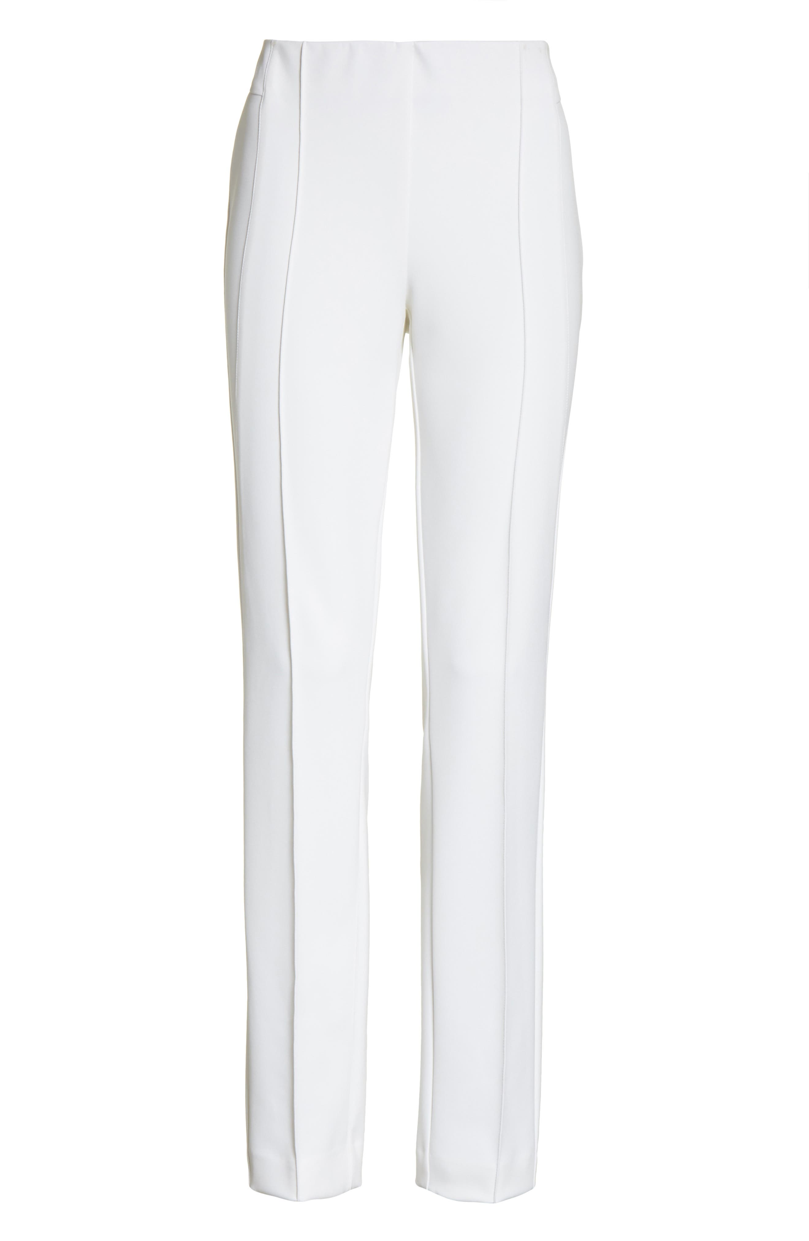 'Gramercy' Acclaimed Stretch Pants,                             Alternate thumbnail 7, color,                             WHITE
