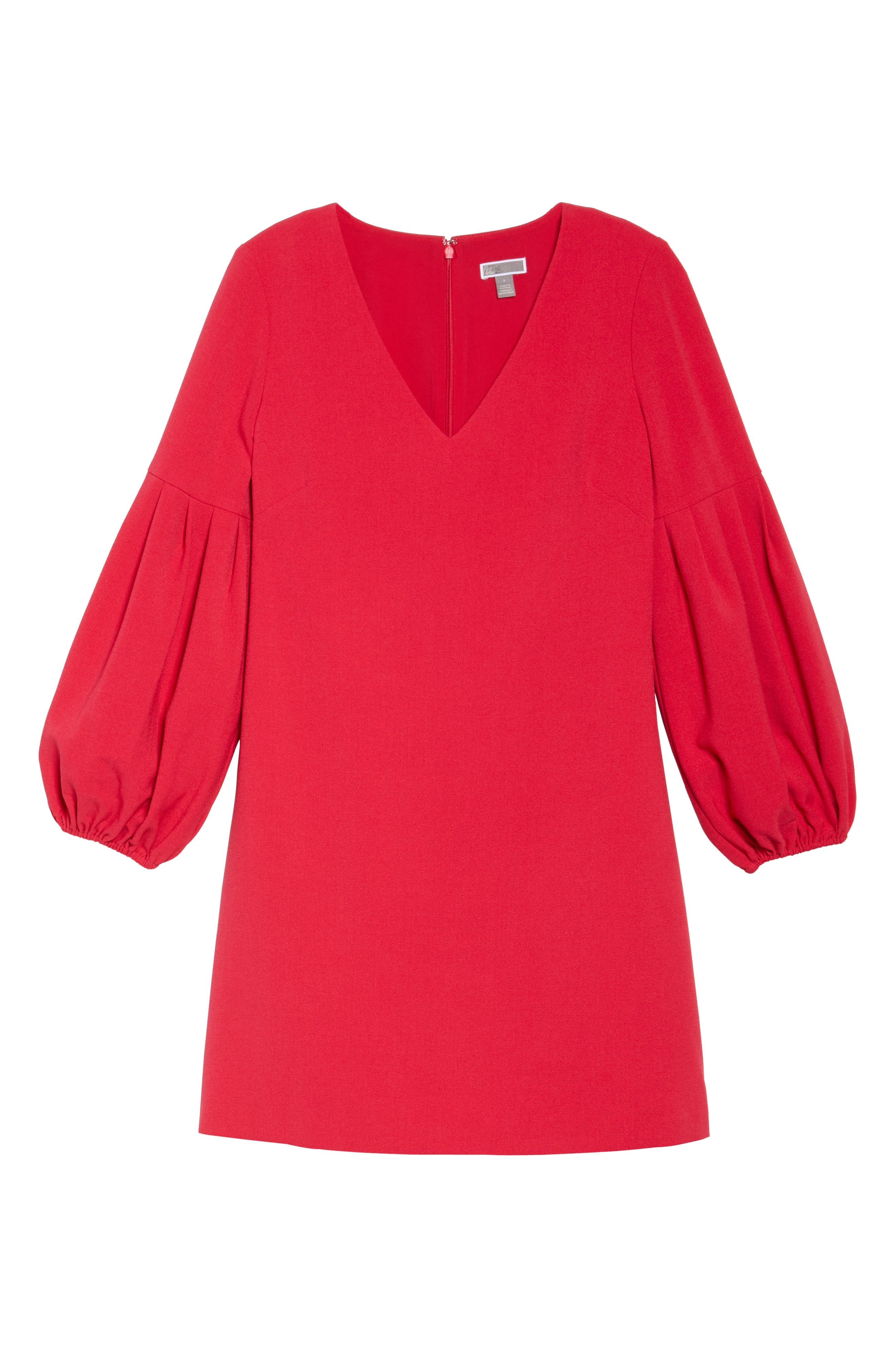 Bloused Sleeve Shift Dress,                             Alternate thumbnail 6, color,                             610