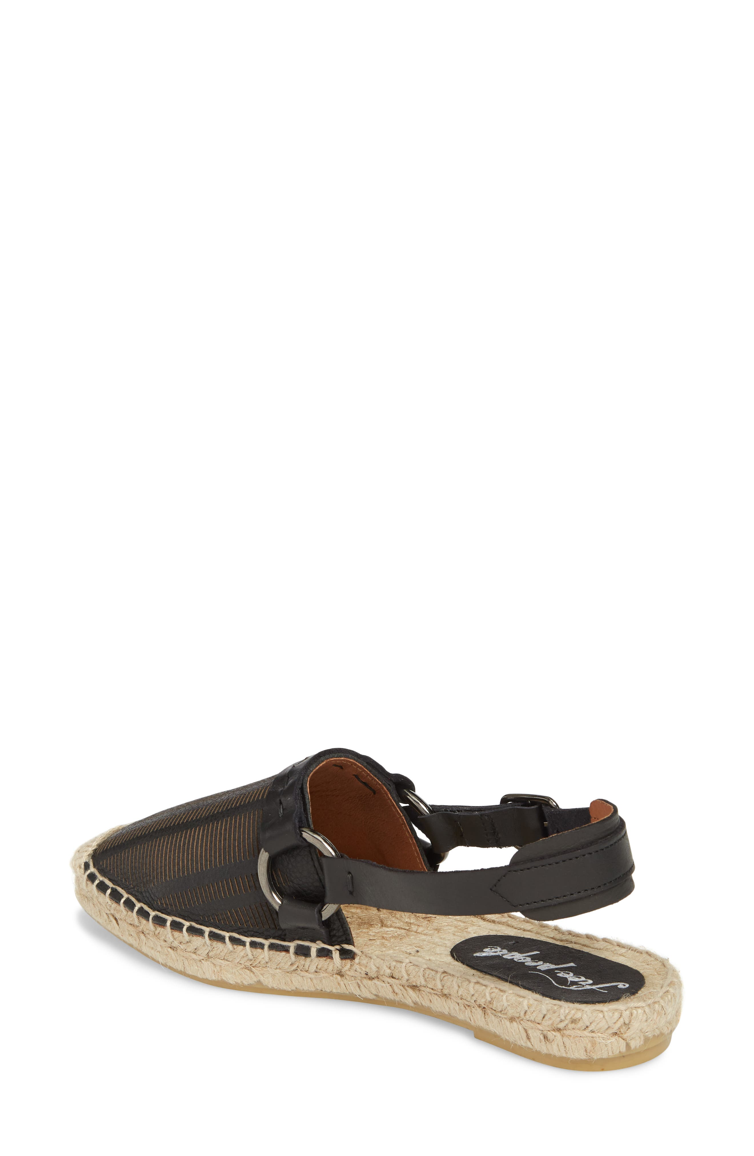 FREE PEOPLE,                             Cabo Espadrille Flat,                             Alternate thumbnail 2, color,                             001