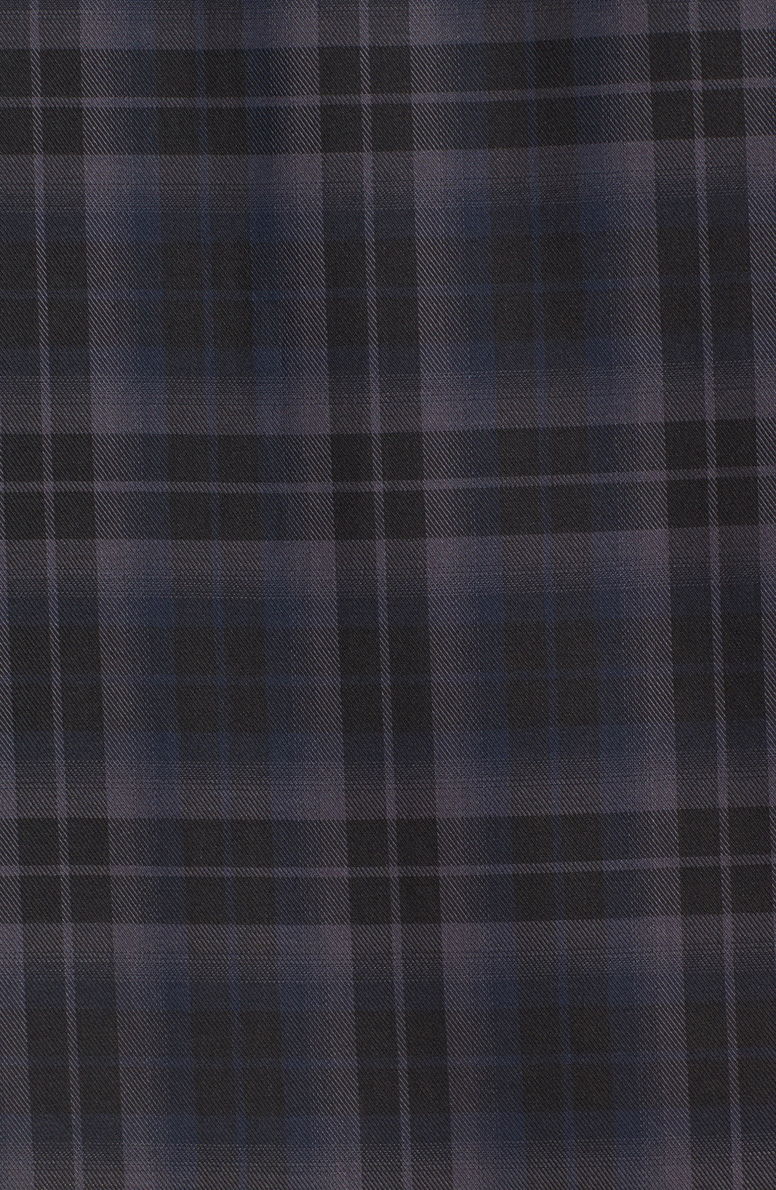 Classic Fit Large Check Twill Sport Shirt,                             Alternate thumbnail 5, color,                             020