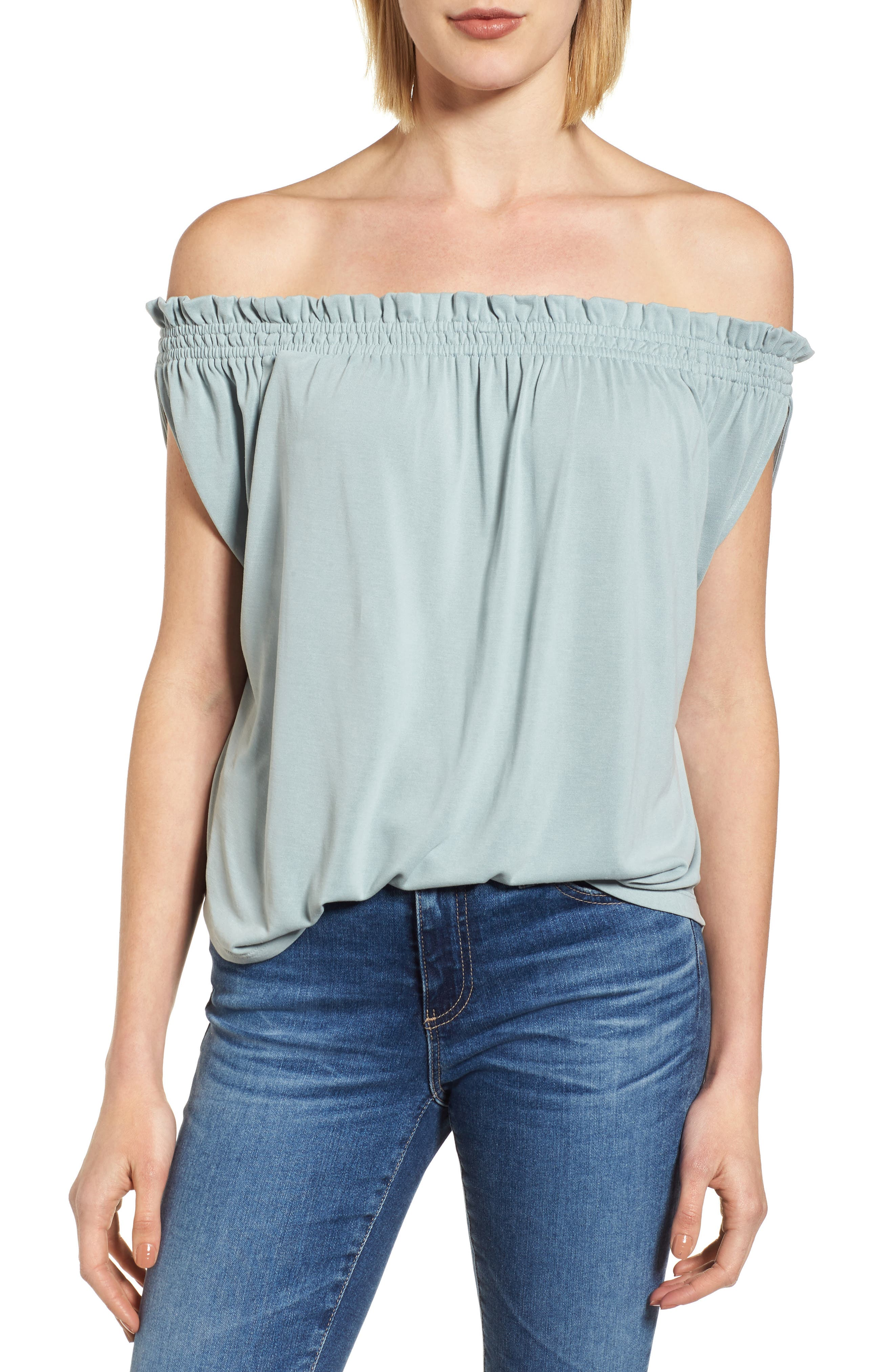 Off the Shoulder Top,                         Main,                         color, 310