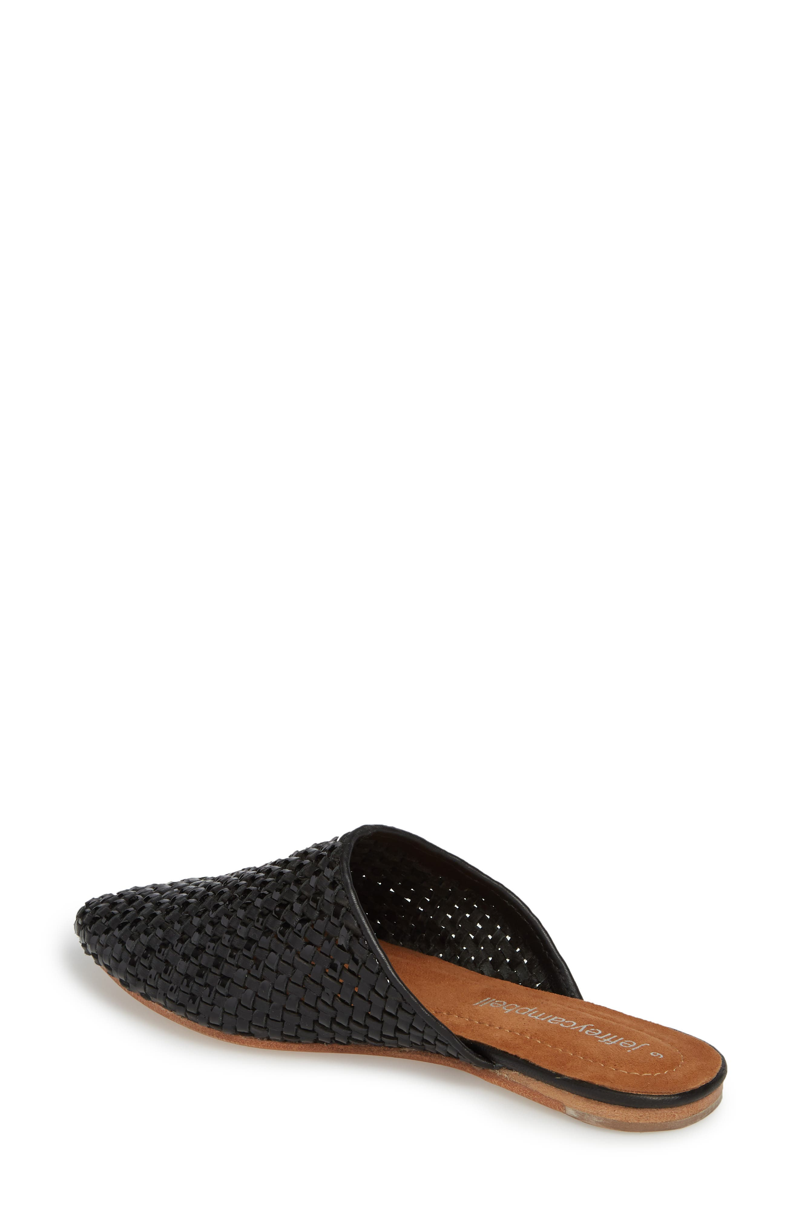 Dashi Woven Mule,                             Alternate thumbnail 2, color,                             BLACK PATENT