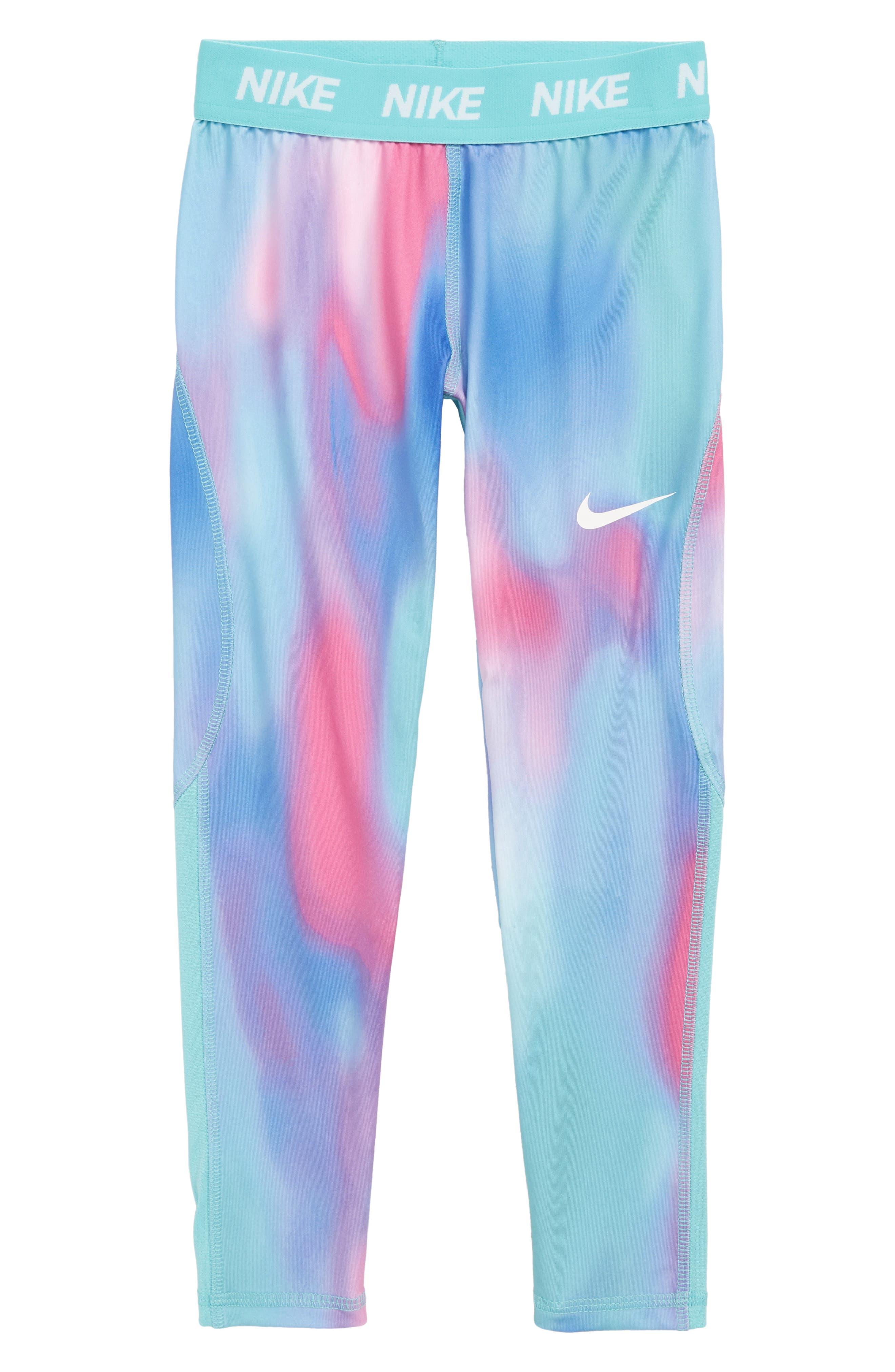 Toddler Girls Nike Dry Print Leggings