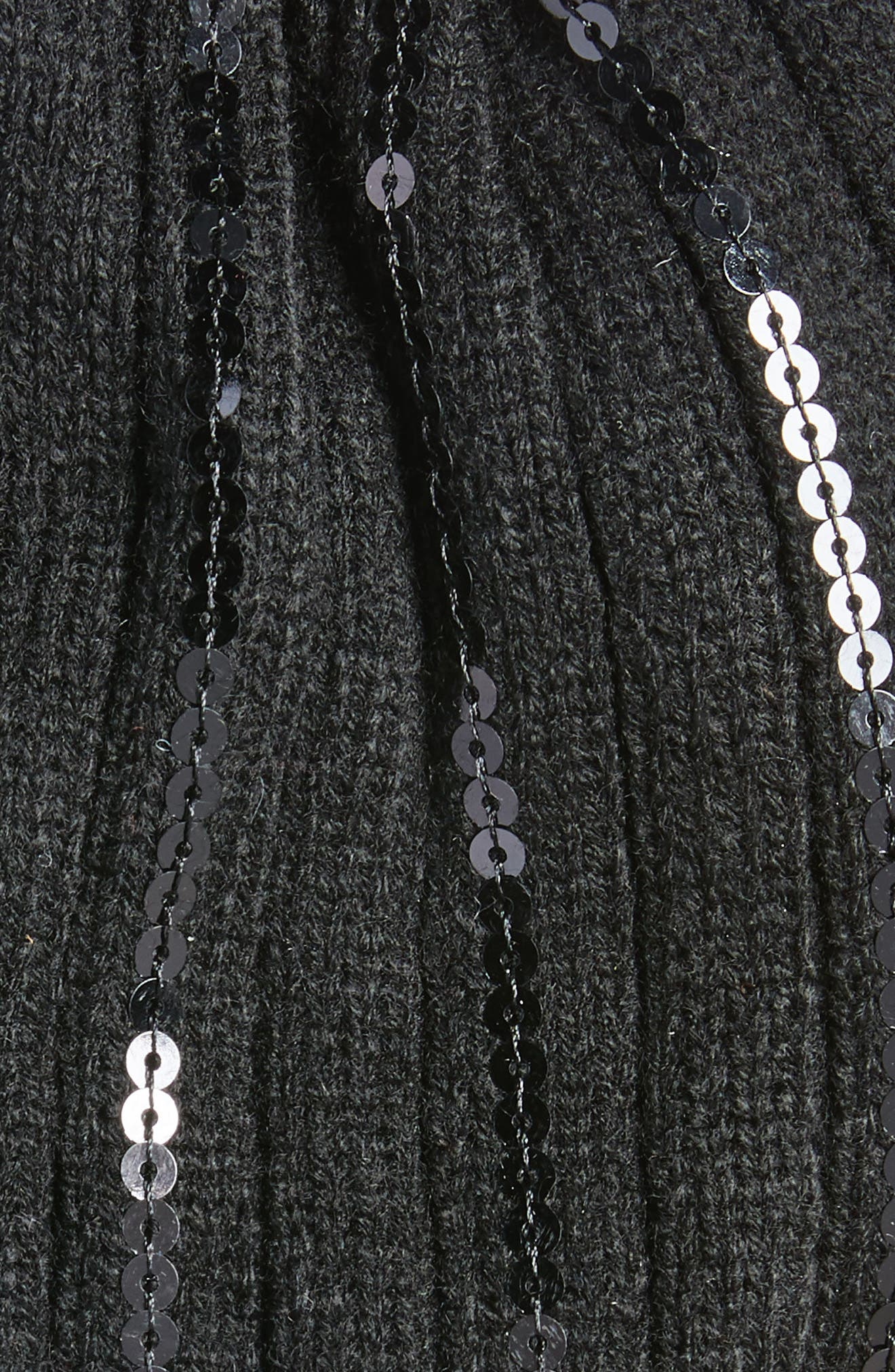 Vertical Paillette Beanie,                             Alternate thumbnail 3, color,