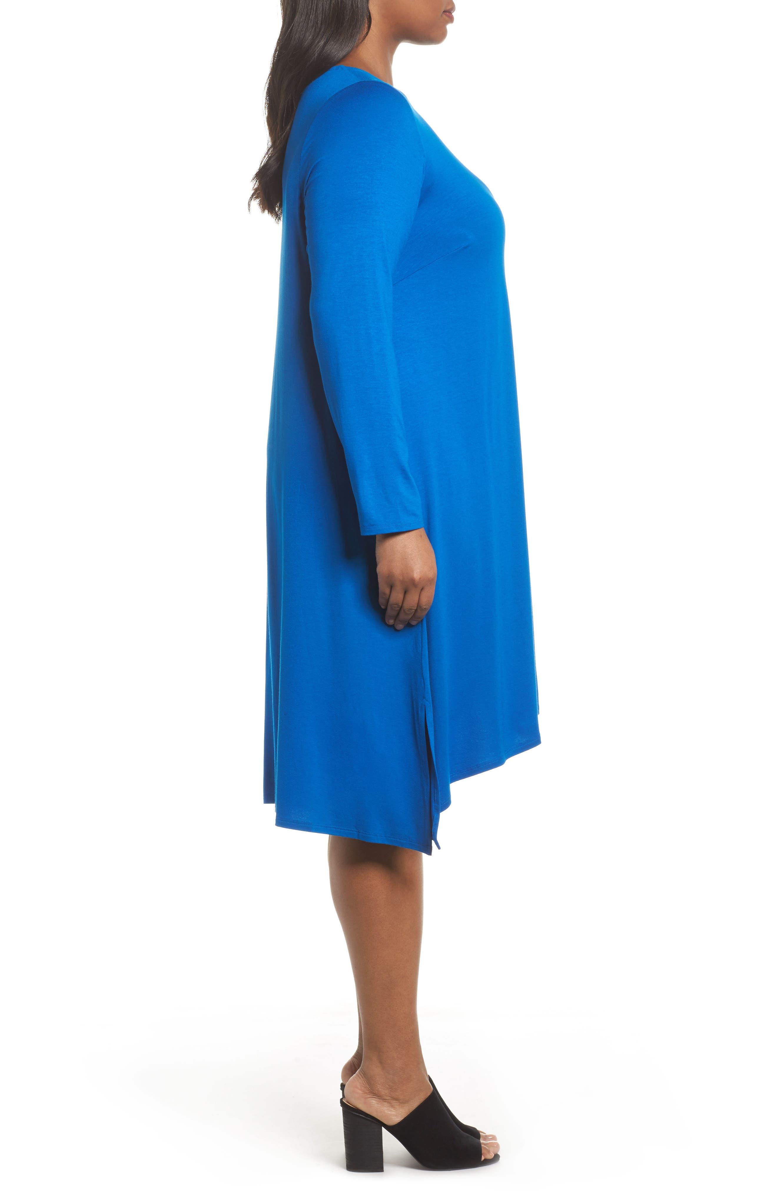 Jersey Tunic Dress,                             Alternate thumbnail 10, color,